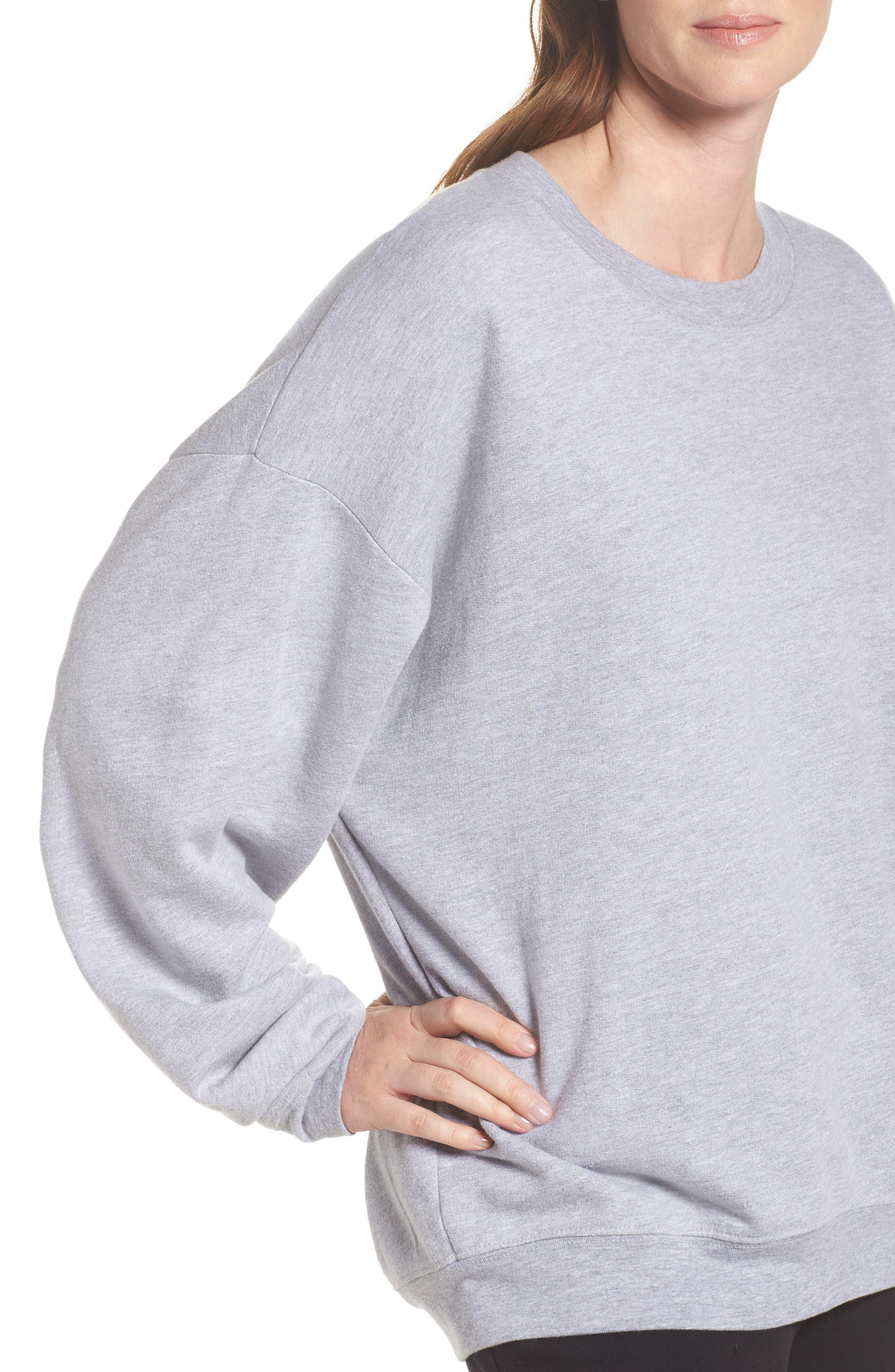 Ellstan Oversize Boyfriend Sweatshirt,                             Alternate thumbnail 4, color,                             035