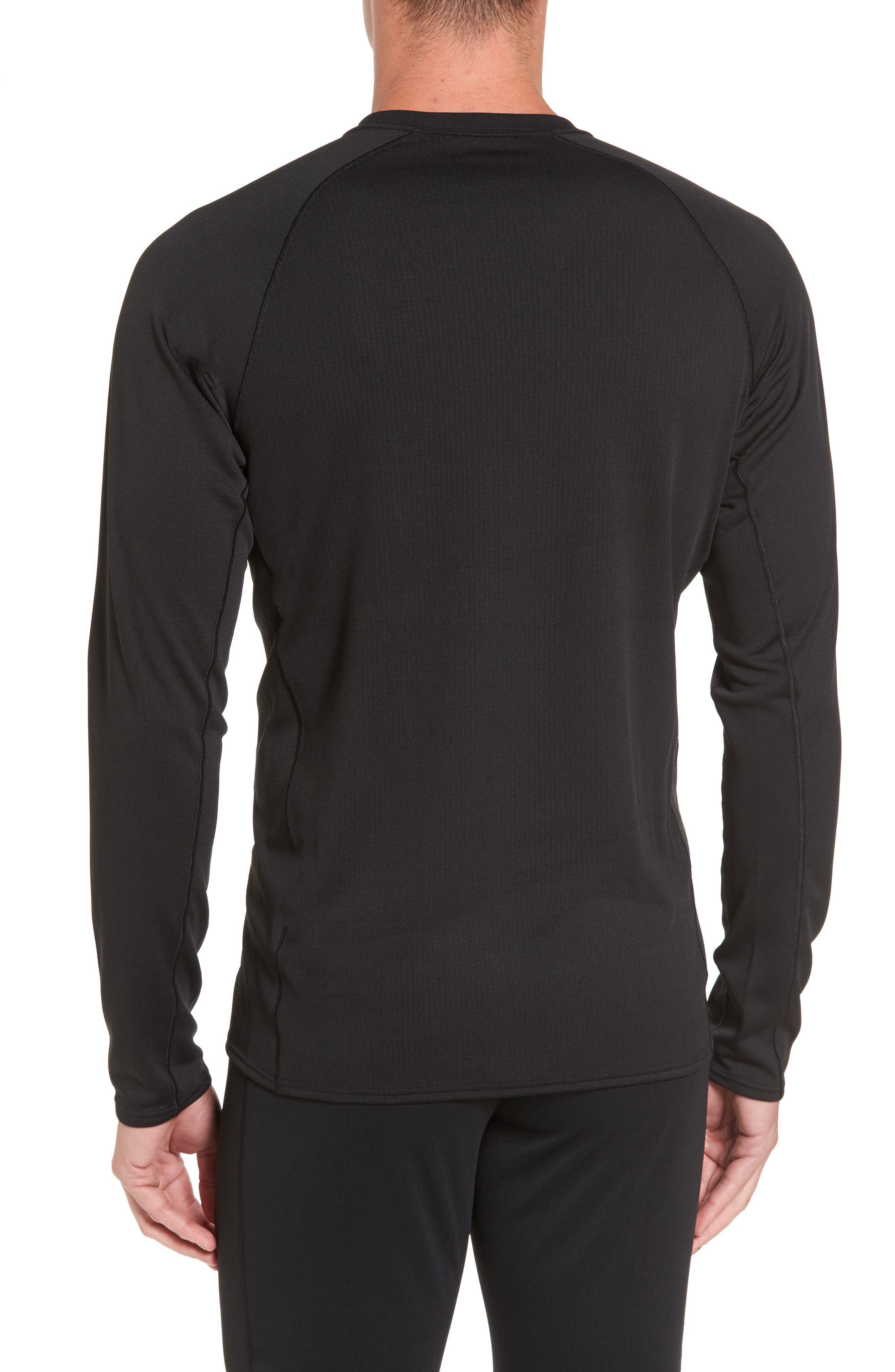 Capilene Midweight Base Layer T-Shirt,                             Alternate thumbnail 2, color,                             001