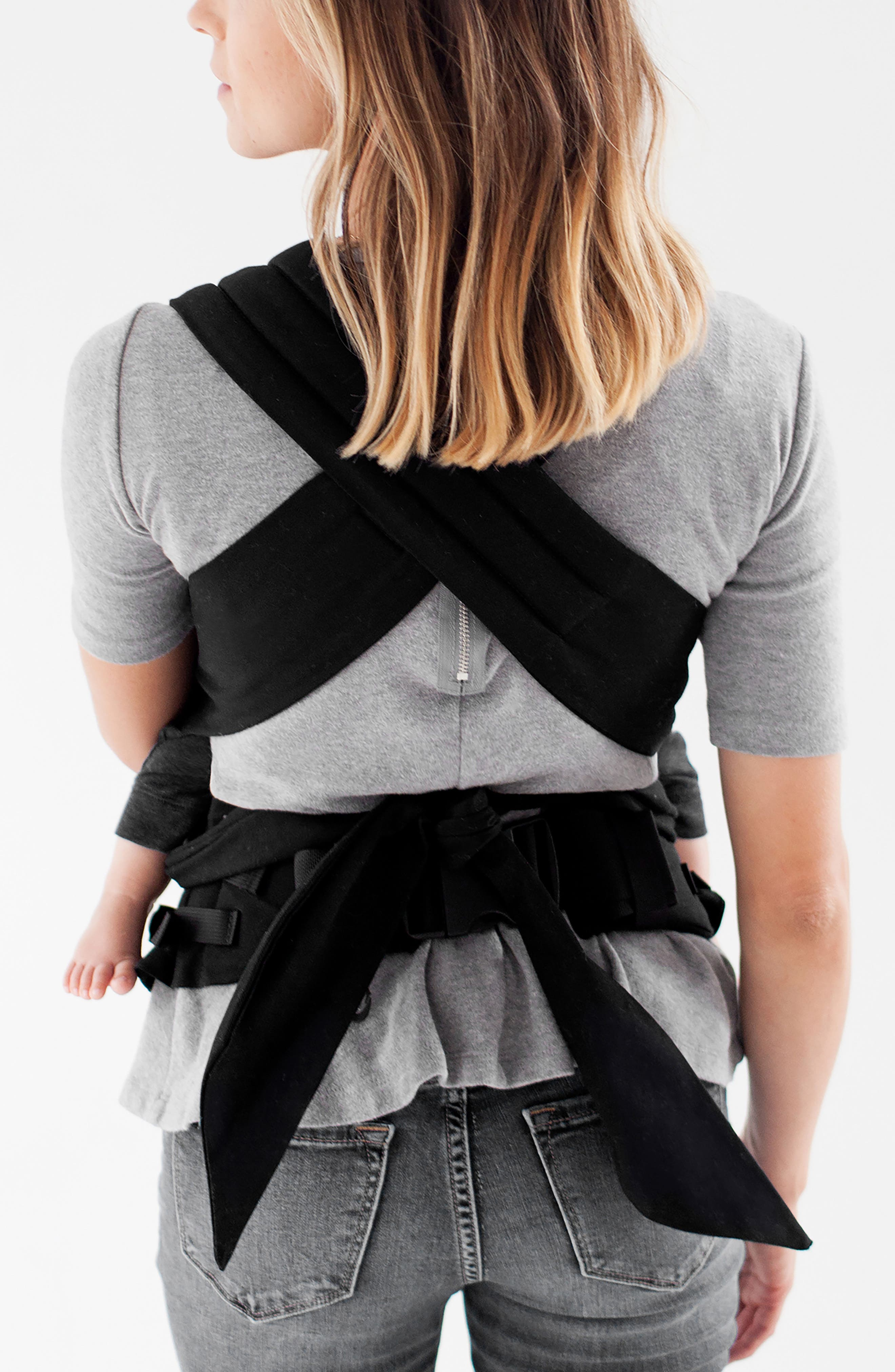 Wrap Buckle Baby Carrier,                             Alternate thumbnail 2, color,                             001