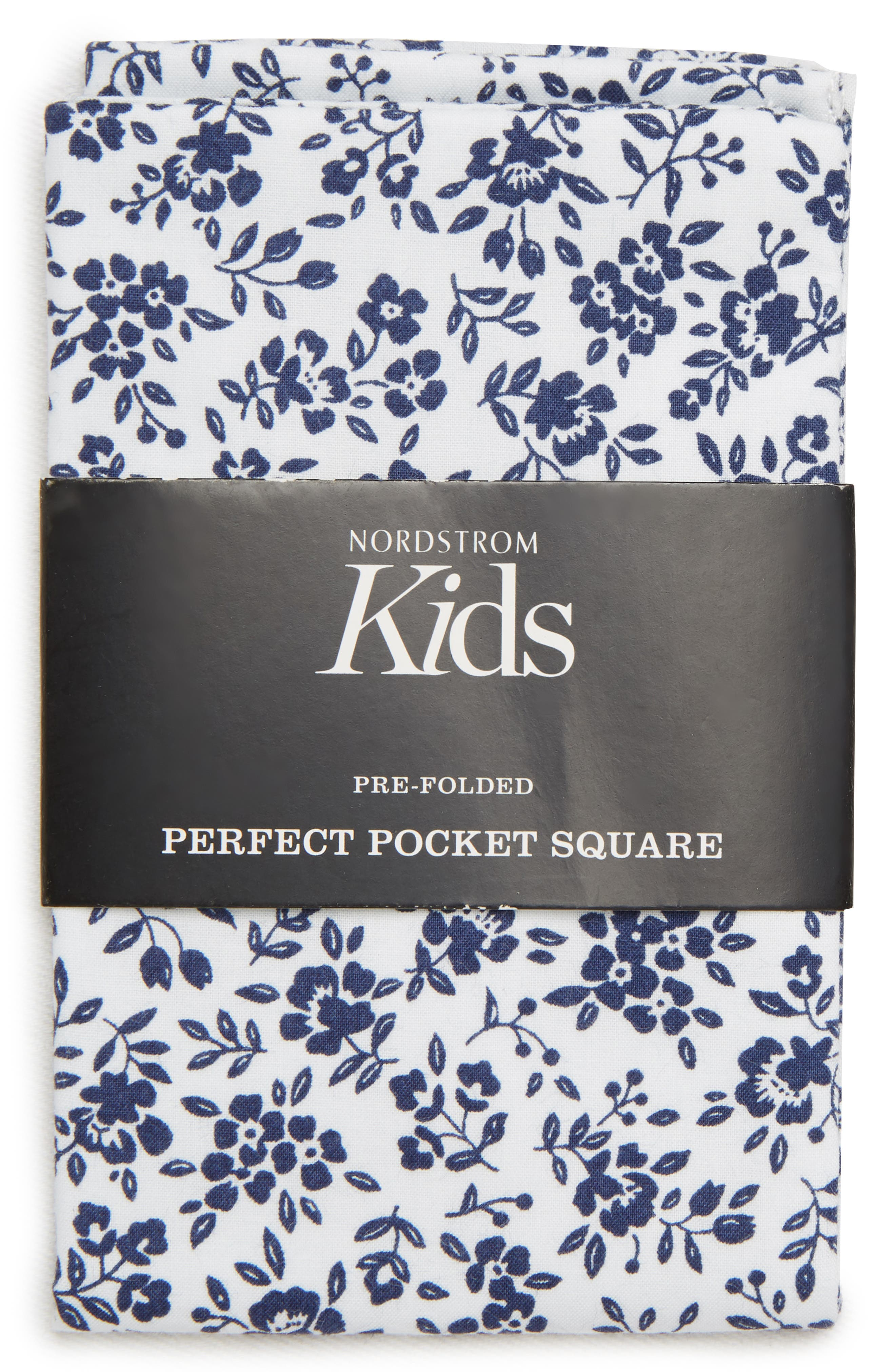 Floral Cotton Pocket Square,                             Alternate thumbnail 2, color,                             400