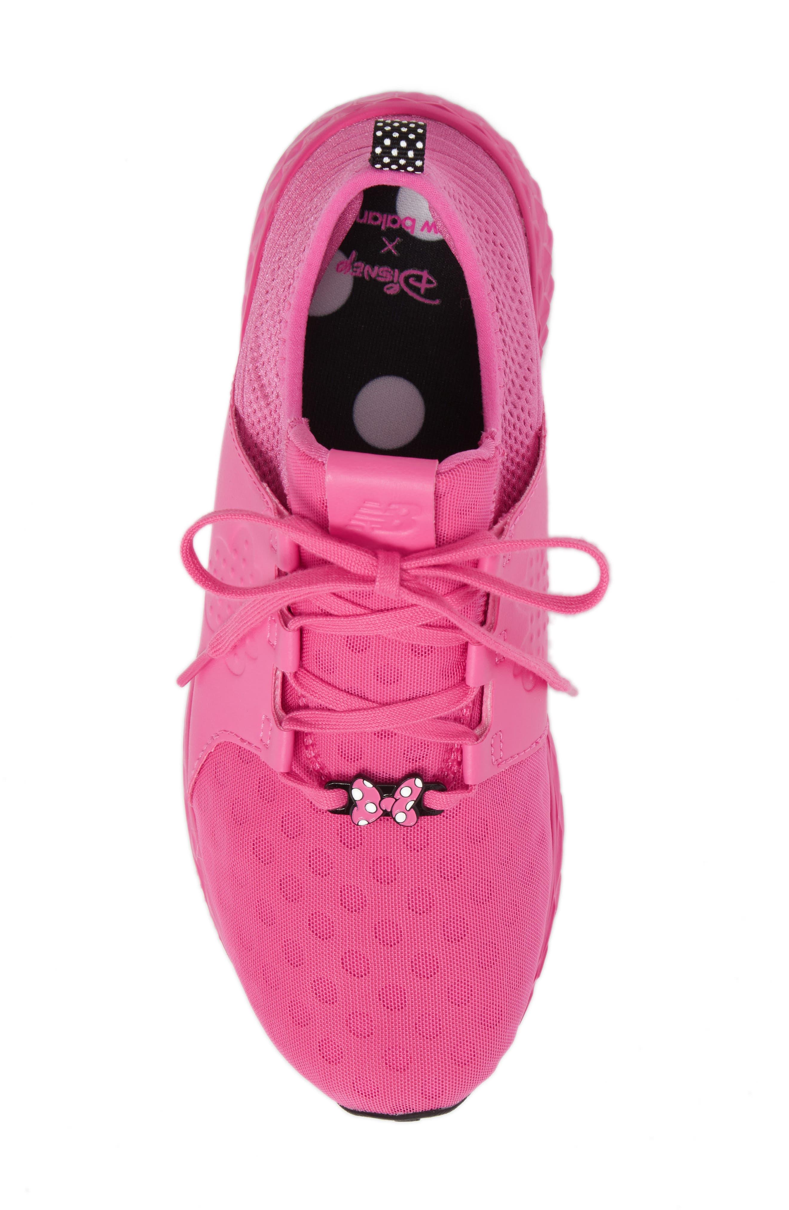 x Disney Minnie Mouse Cruz Sport Sneaker,                             Alternate thumbnail 10, color,