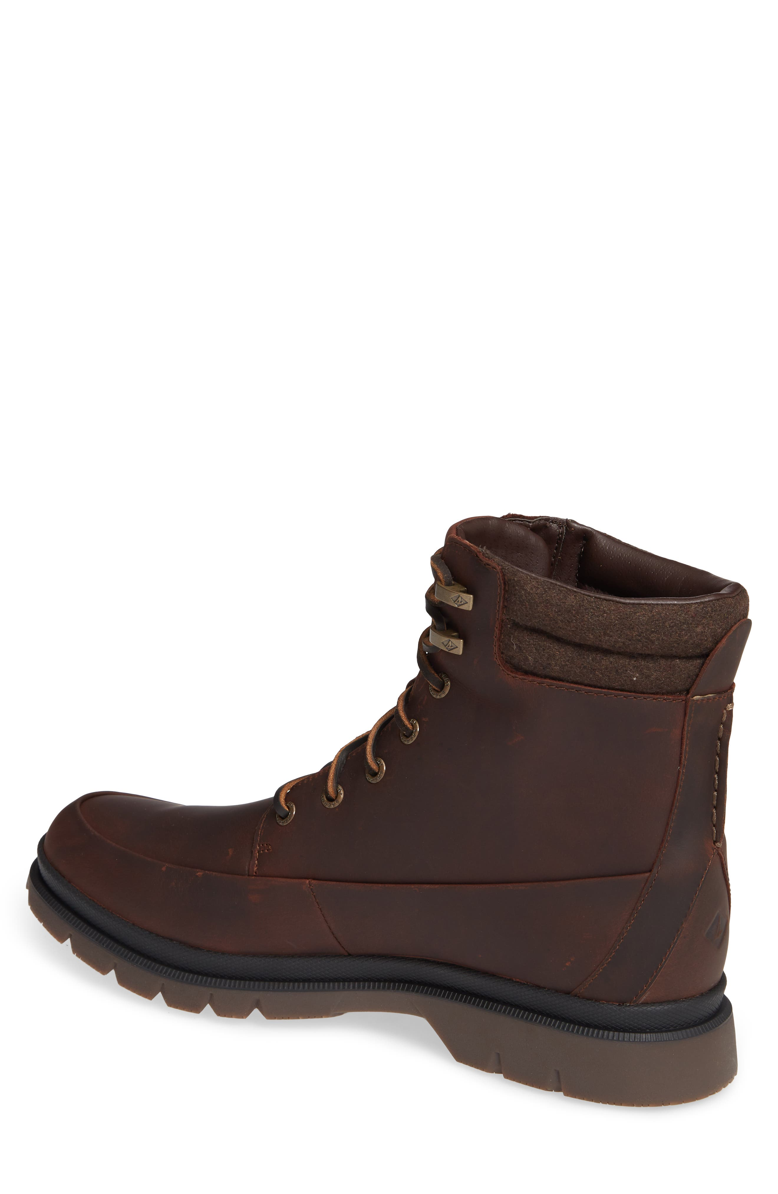 SPERRY,                             Watertown Waterproof Moc Toe Boot,                             Alternate thumbnail 2, color,                             BROWN