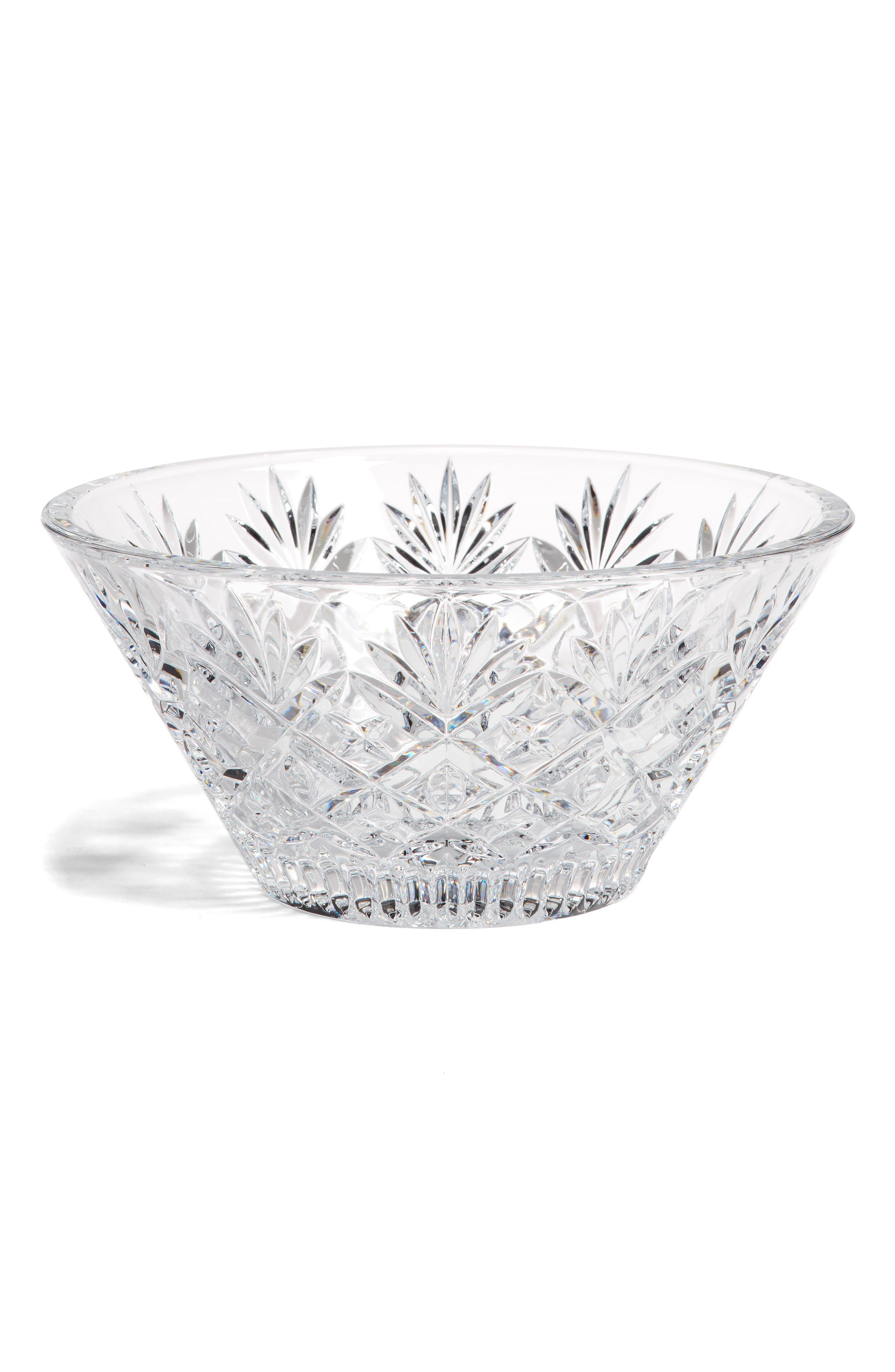 Northbridge Lead Crystal Bowl,                         Main,                         color, 100