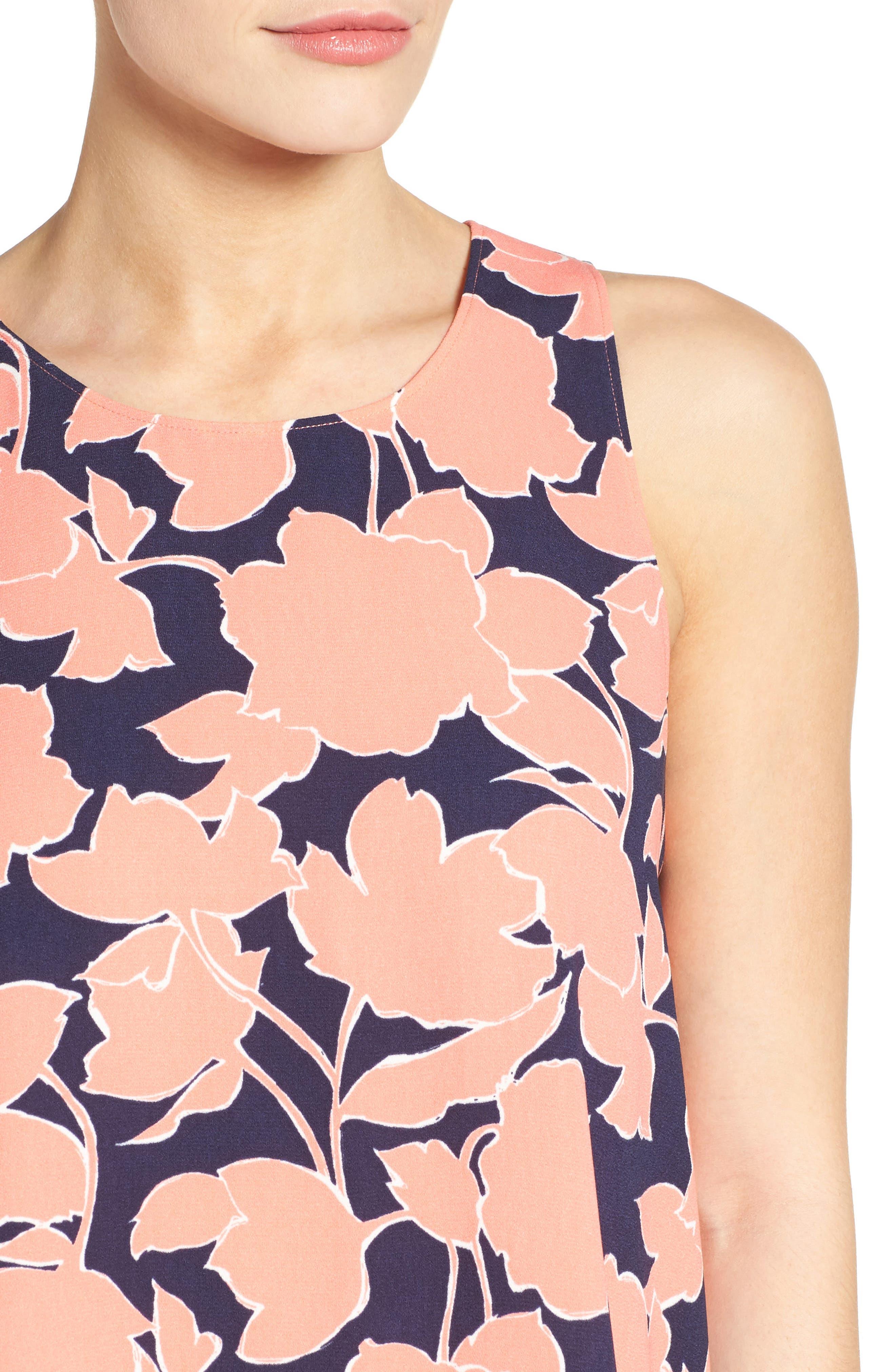 A-Line Dress,                             Alternate thumbnail 104, color,