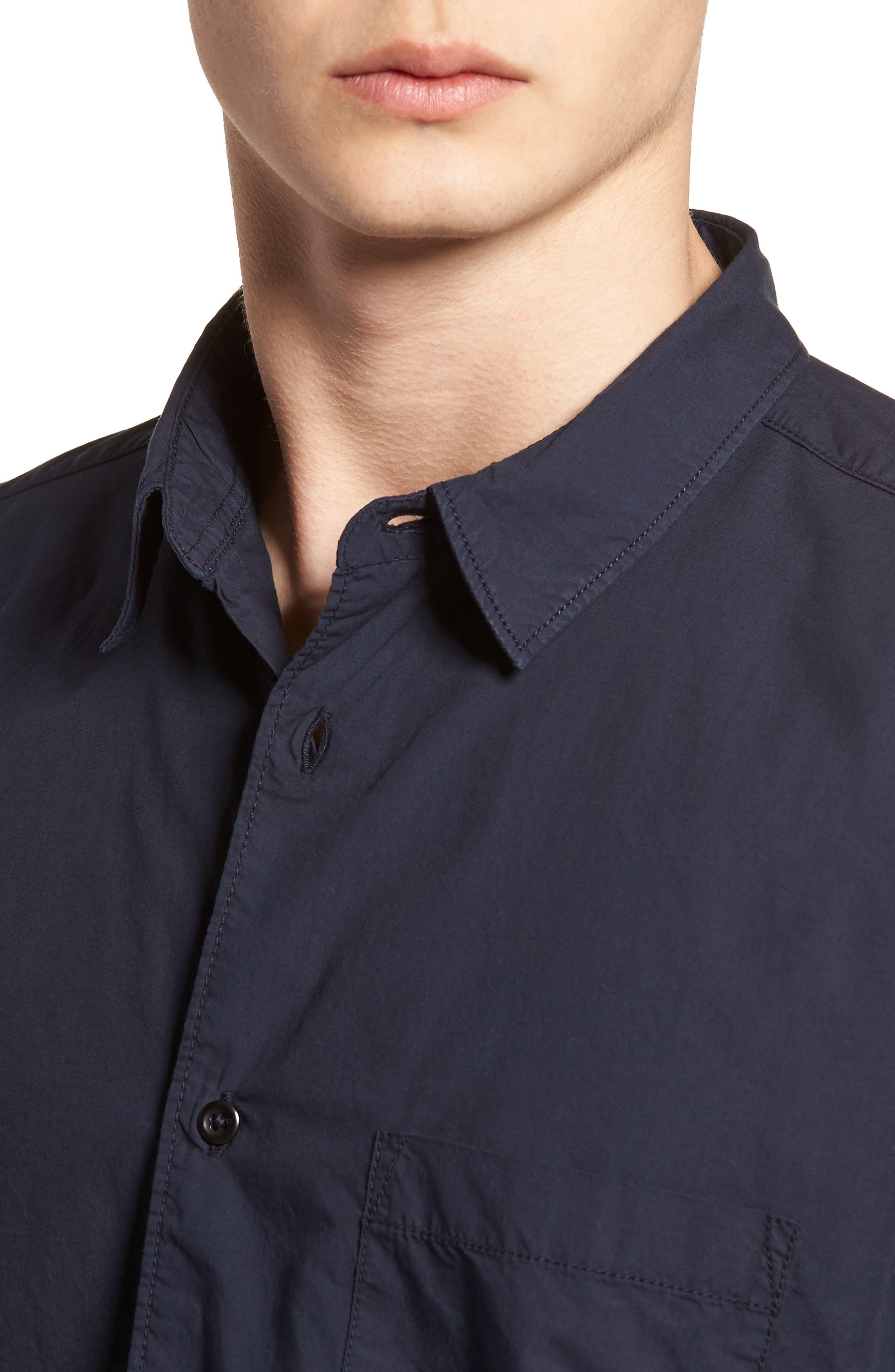 Regular Fit Poplin Sport Shirt,                             Alternate thumbnail 12, color,