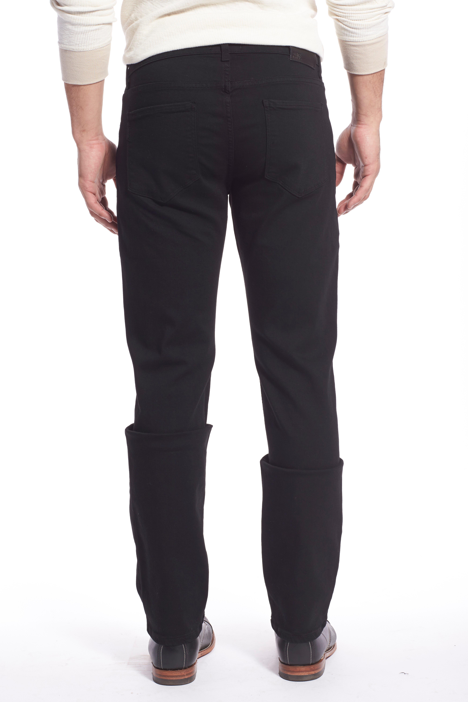 Transcend - Lennox Slim Fit Jeans,                             Alternate thumbnail 2, color,                             BLACK SHADOW