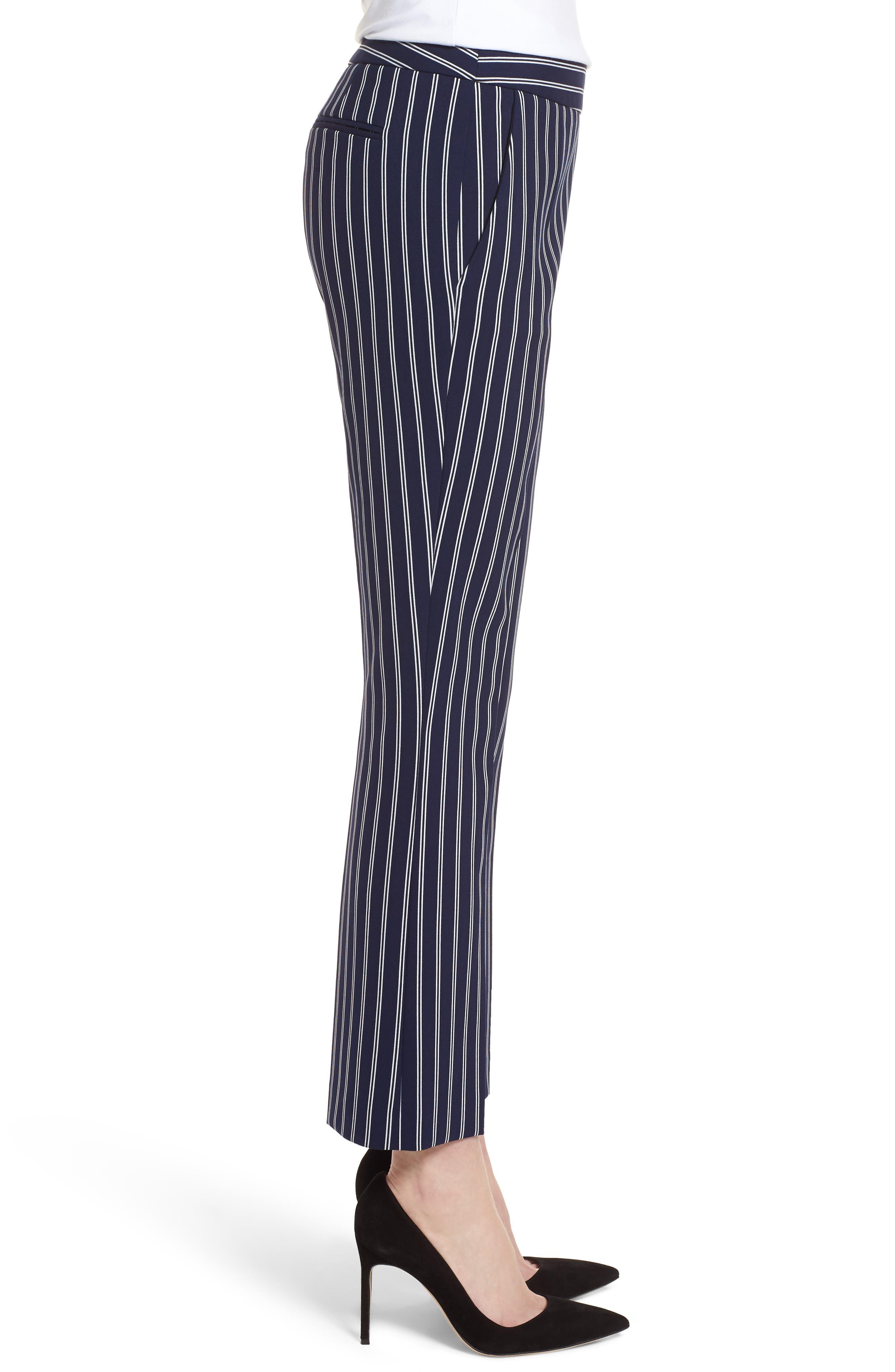 Tebella Stripe Pants,                             Alternate thumbnail 3, color,