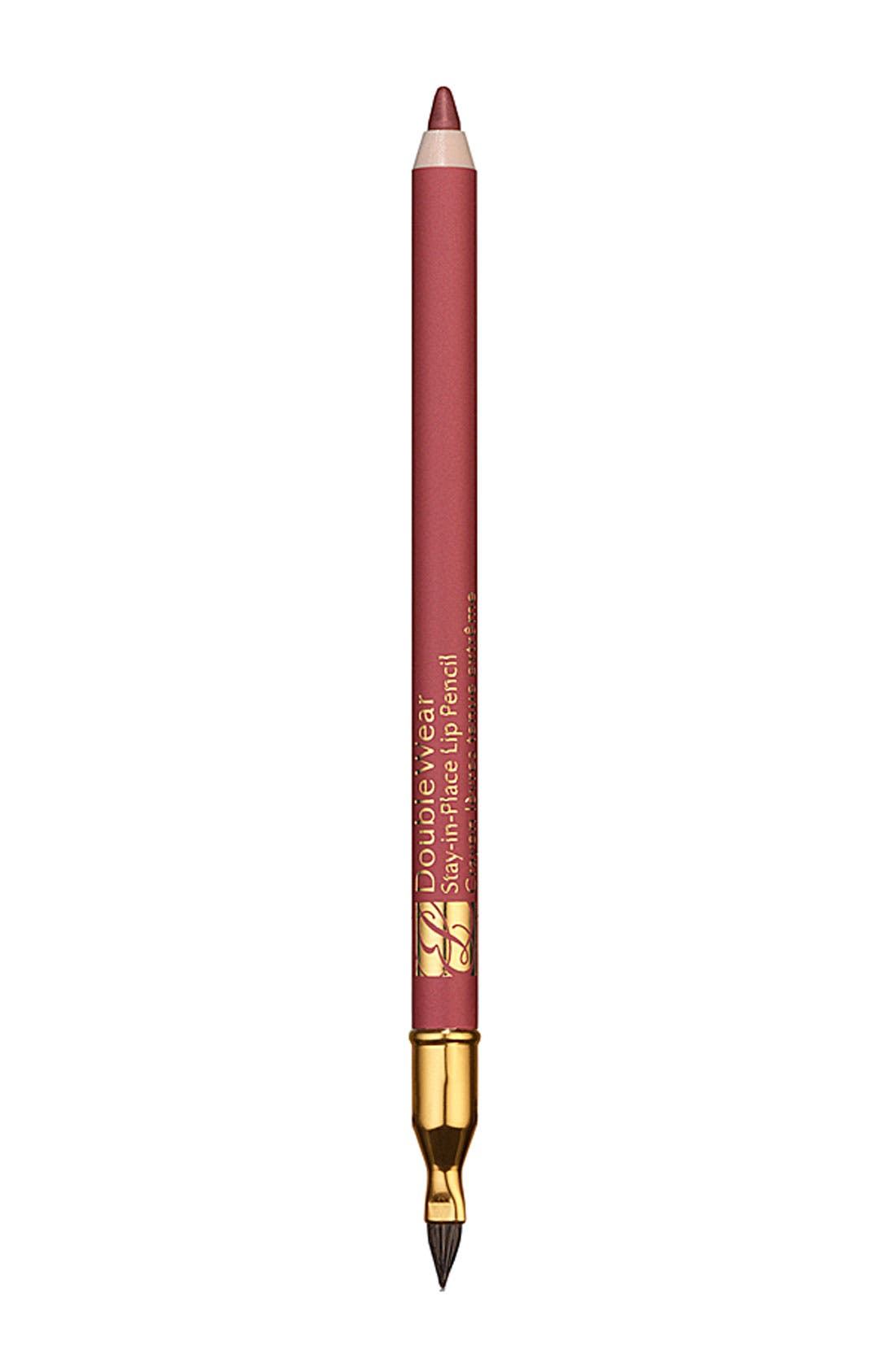 Double Wear Stay-in-Place Lip Pencil,                             Main thumbnail 1, color,                             PINK