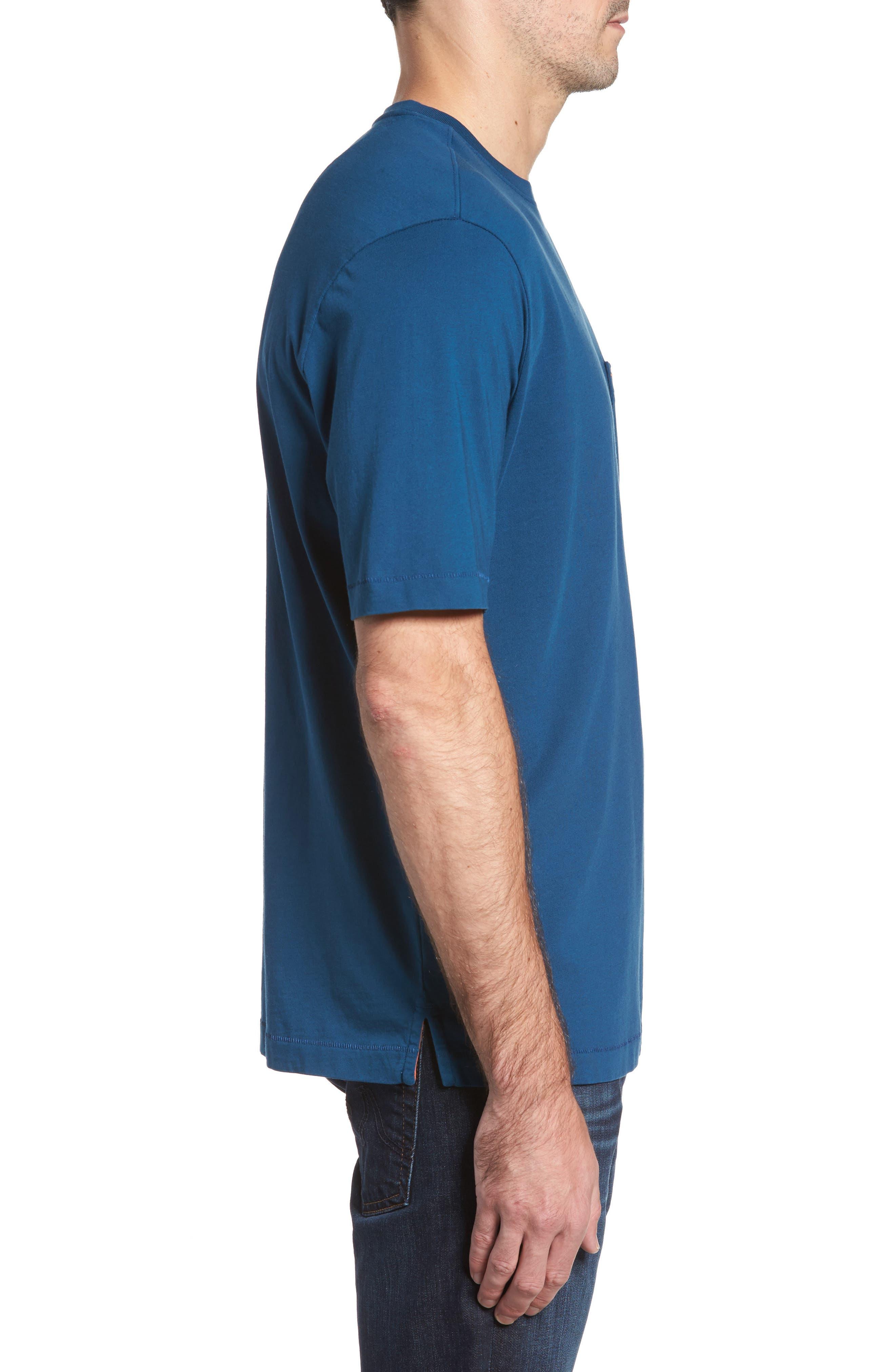 New Bali Sky Pima Cotton Pocket T-Shirt,                             Alternate thumbnail 81, color,