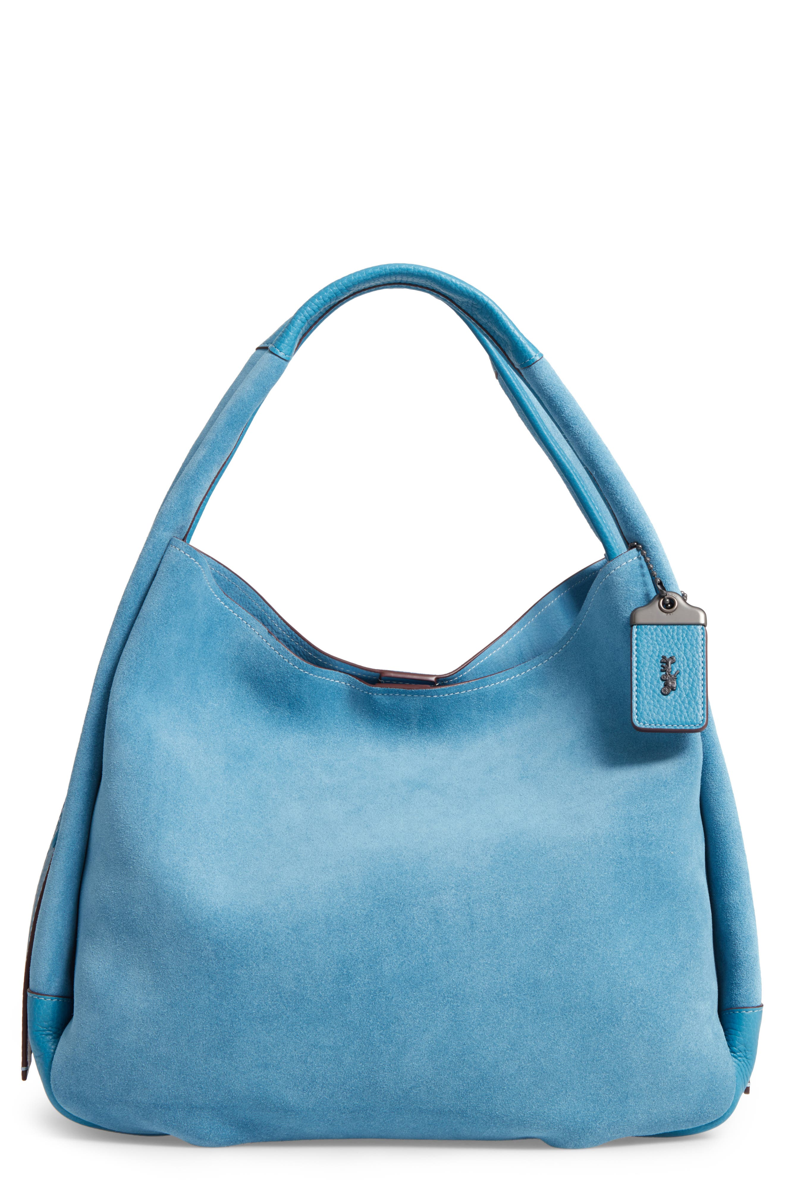 Bandit Suede Hobo & Removable Shoulder Bag,                             Main thumbnail 1, color,                             453