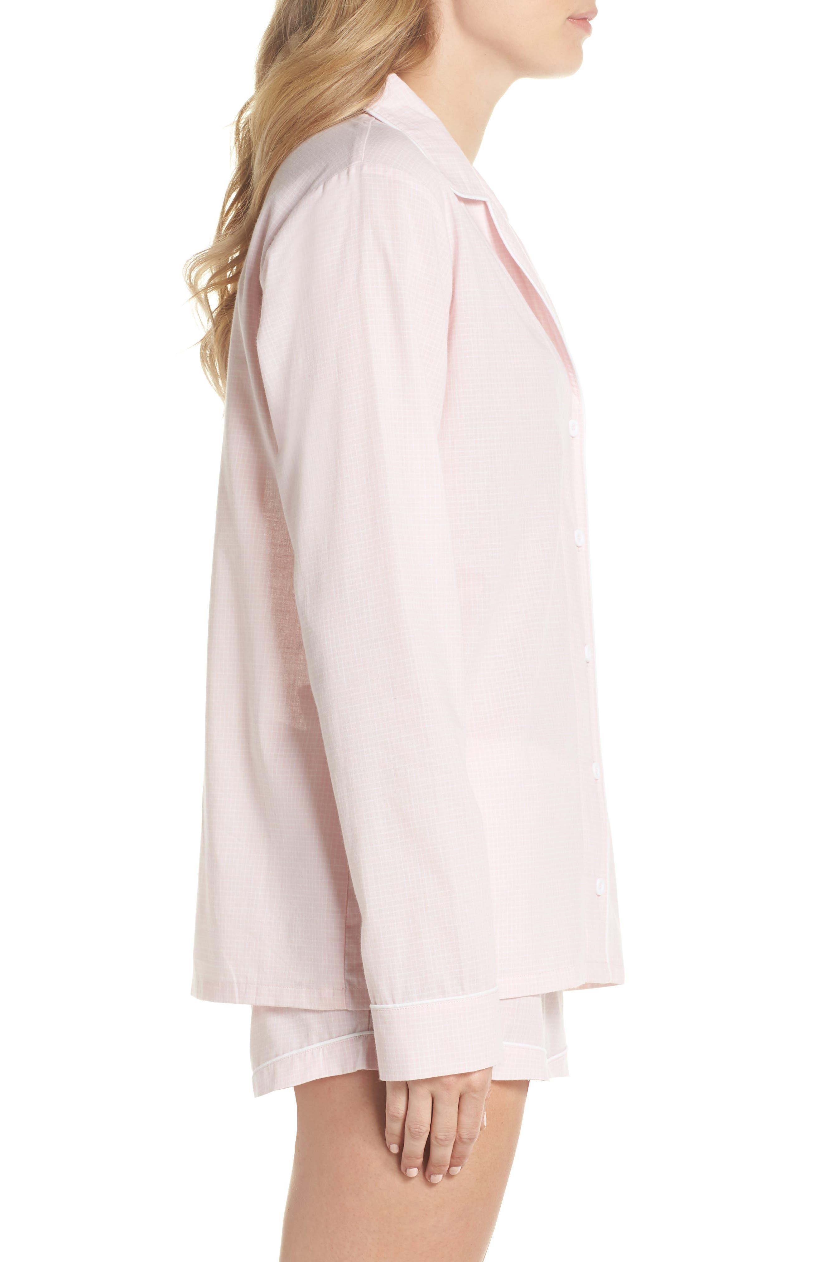 UGG<SUP>®</SUP>,                             Cassandra Check Pajamas,                             Alternate thumbnail 3, color,                             656