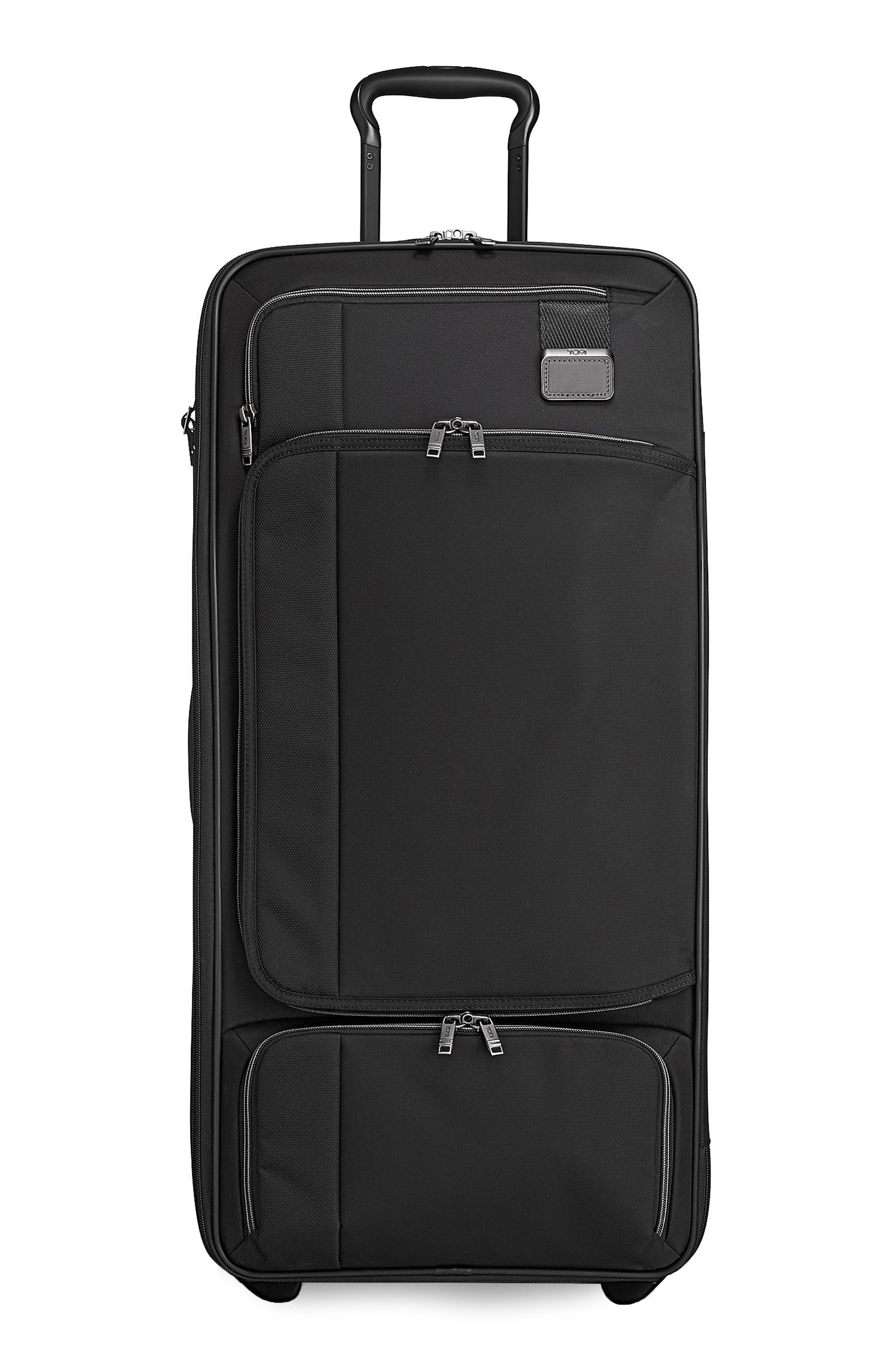 TUMI Merge - 31-Inch Rolling Duffel Bag, Main, color, BLACK CONTRAST