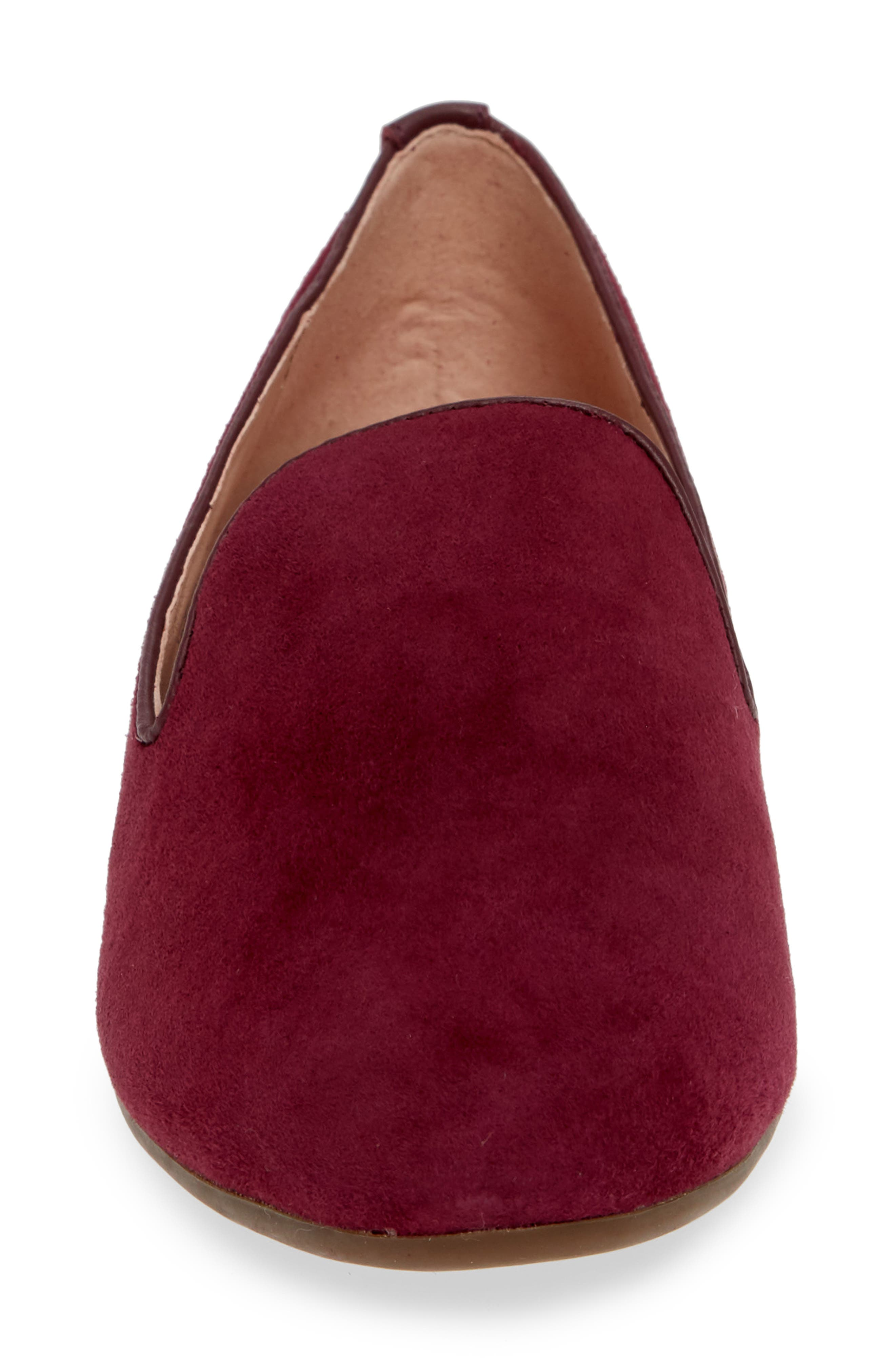 TARYN ROSE,                             Bryanna Loafer,                             Alternate thumbnail 4, color,                             FIG SUEDE