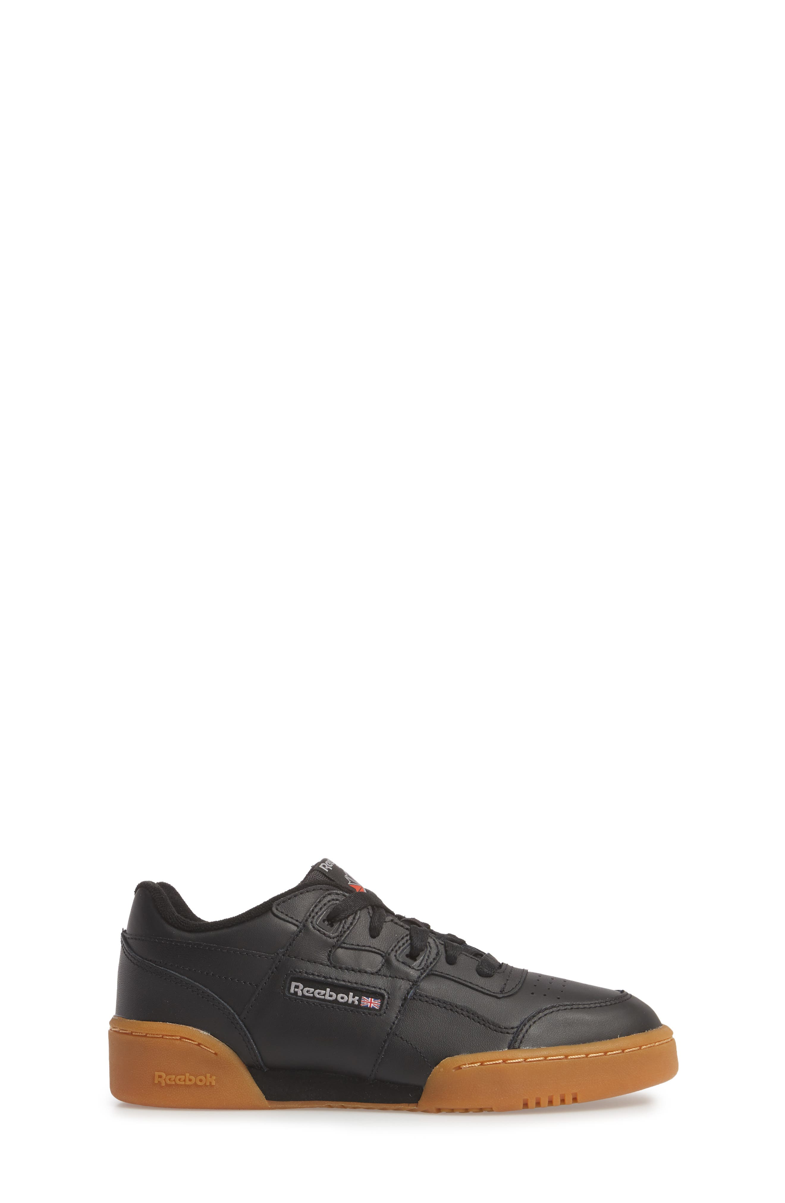 Workout Plus Sneaker,                             Alternate thumbnail 3, color,                             BLACK