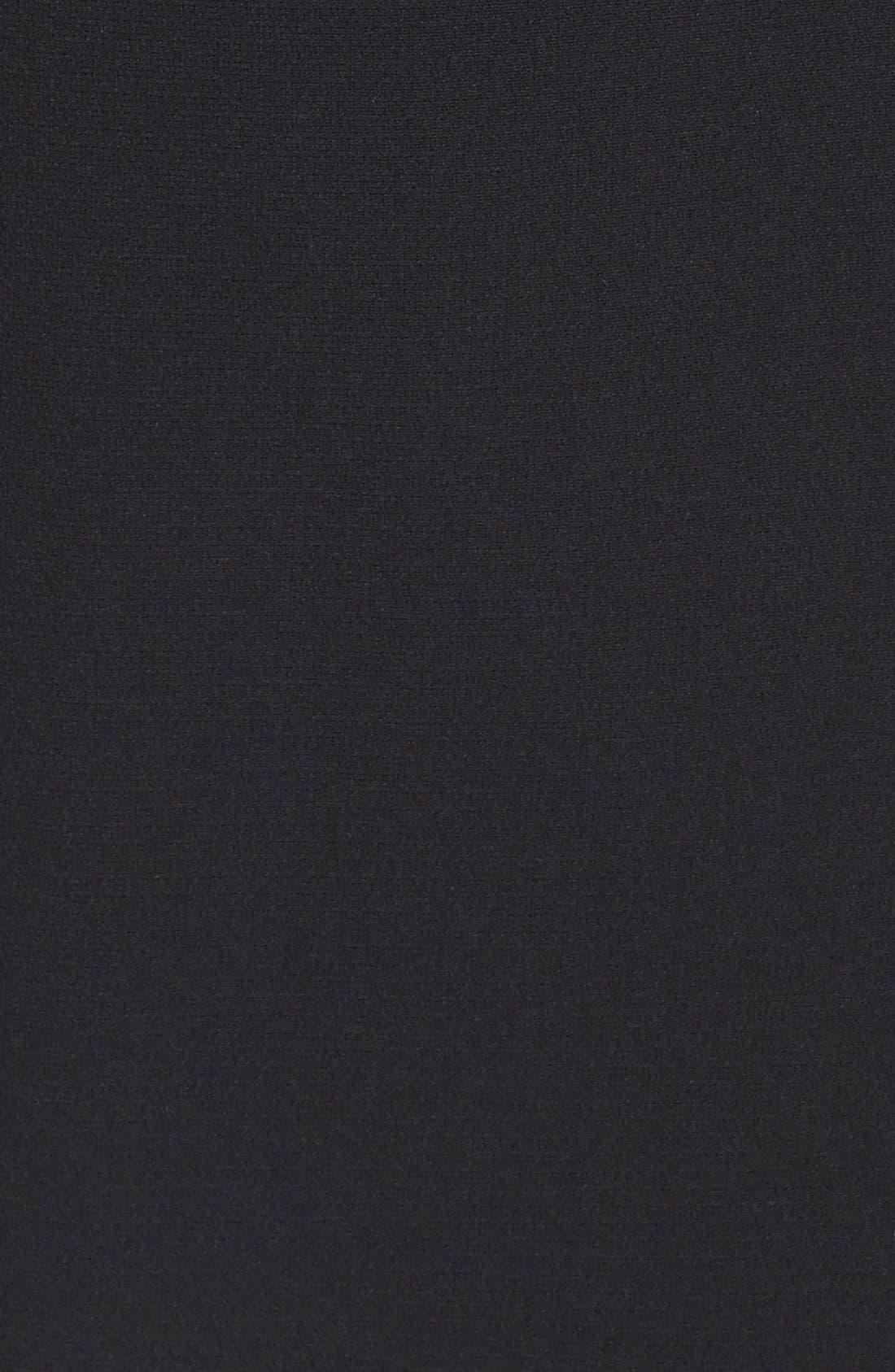 LOUBEN,                             Suit Pencil Skirt,                             Alternate thumbnail 3, color,                             BLACK
