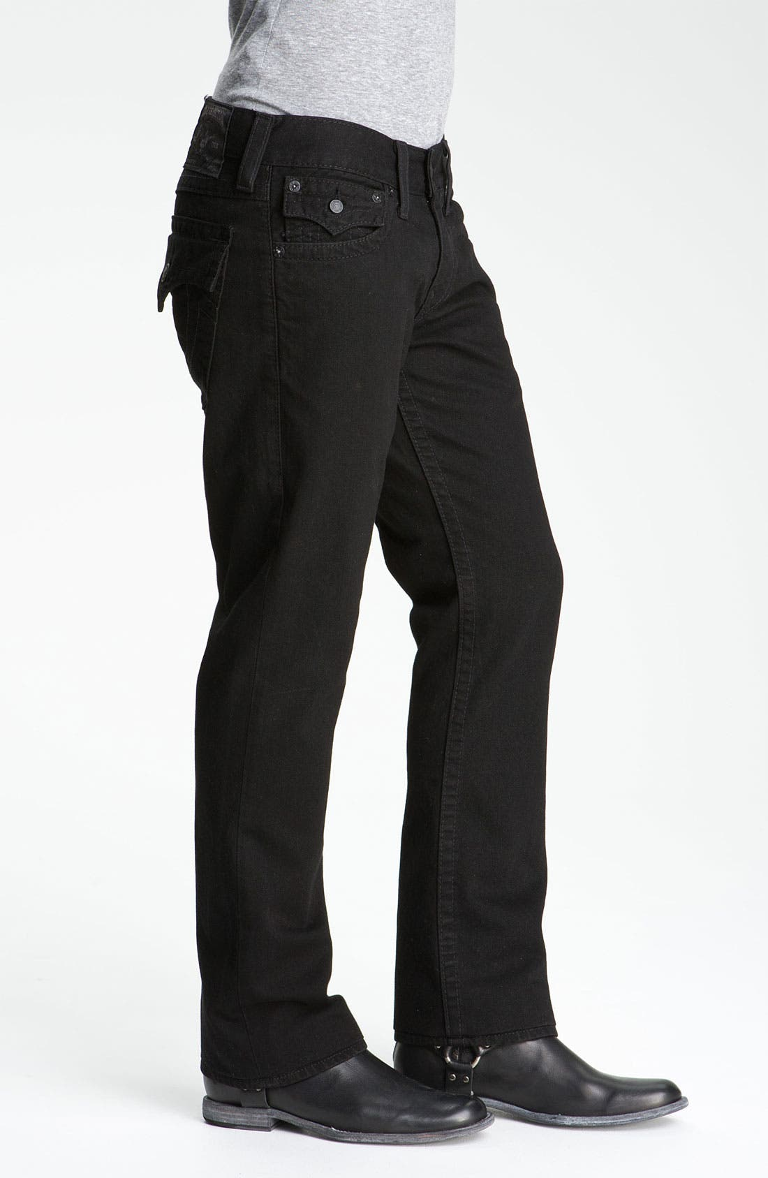 'Ricky' Relaxed Fit Jeans,                             Alternate thumbnail 5, color,