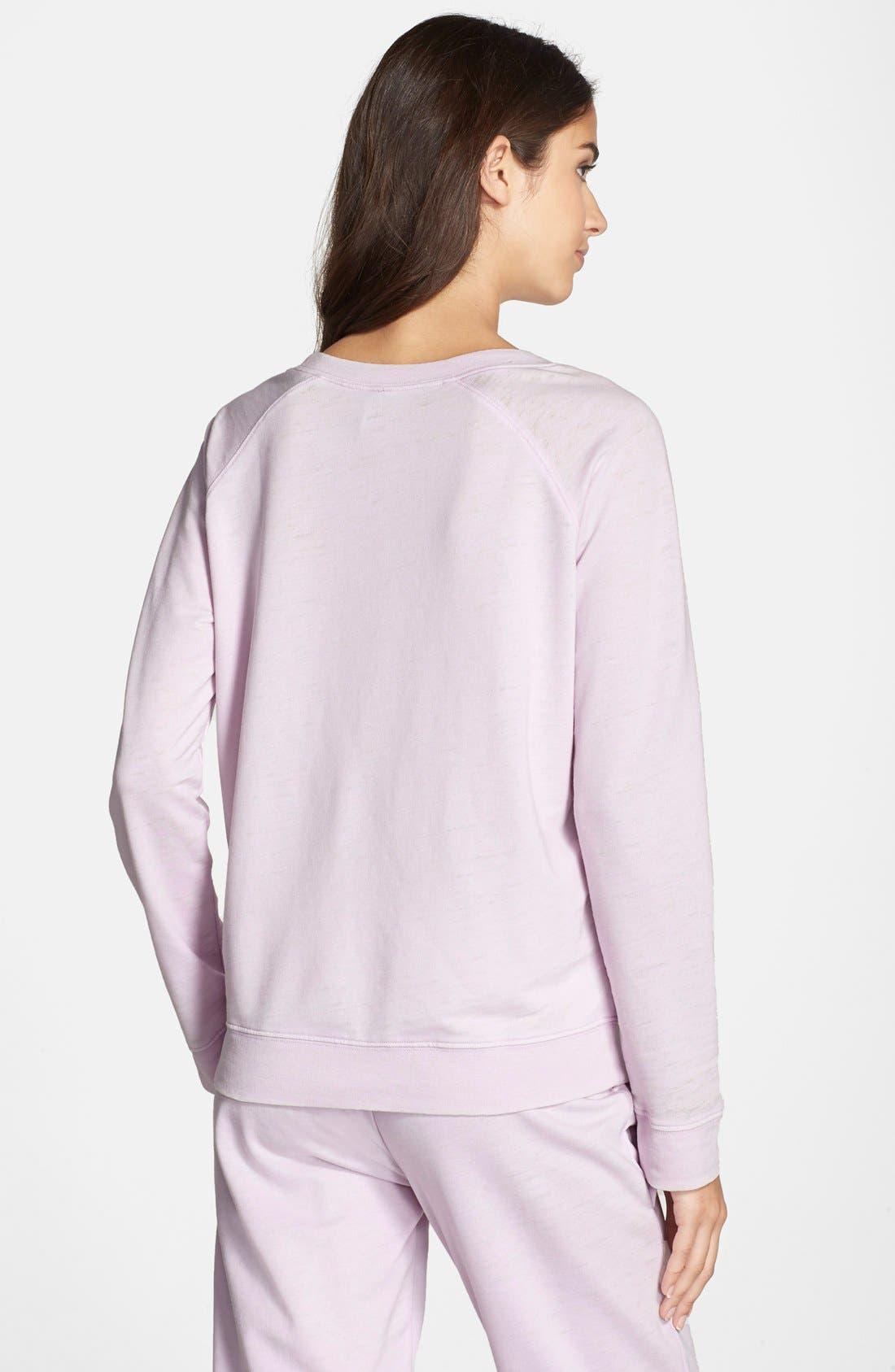 Burnout Lounge Sweatshirt,                             Alternate thumbnail 115, color,