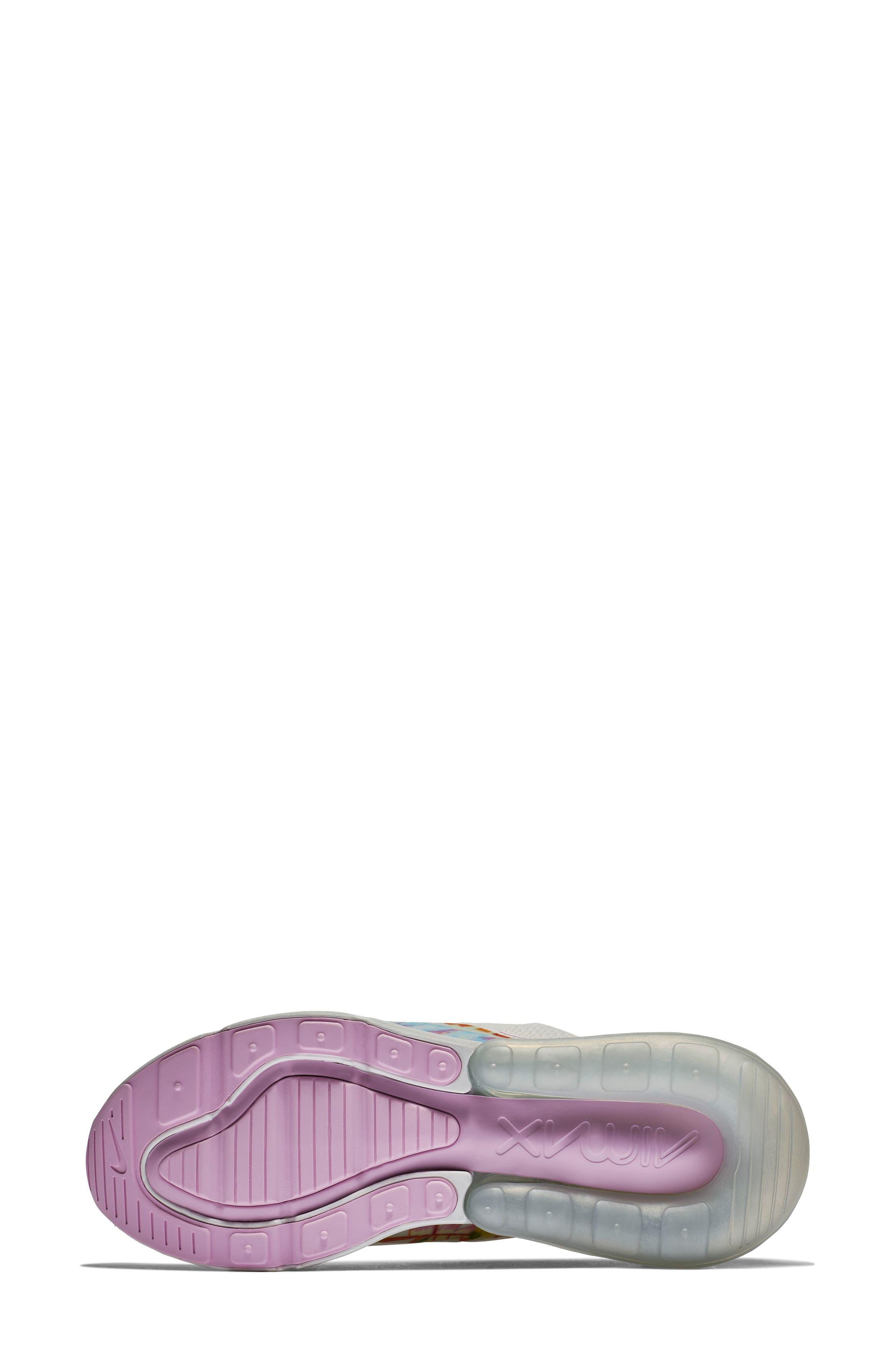 Air Max 270 Premium Sneaker,                             Alternate thumbnail 5, color,                             100
