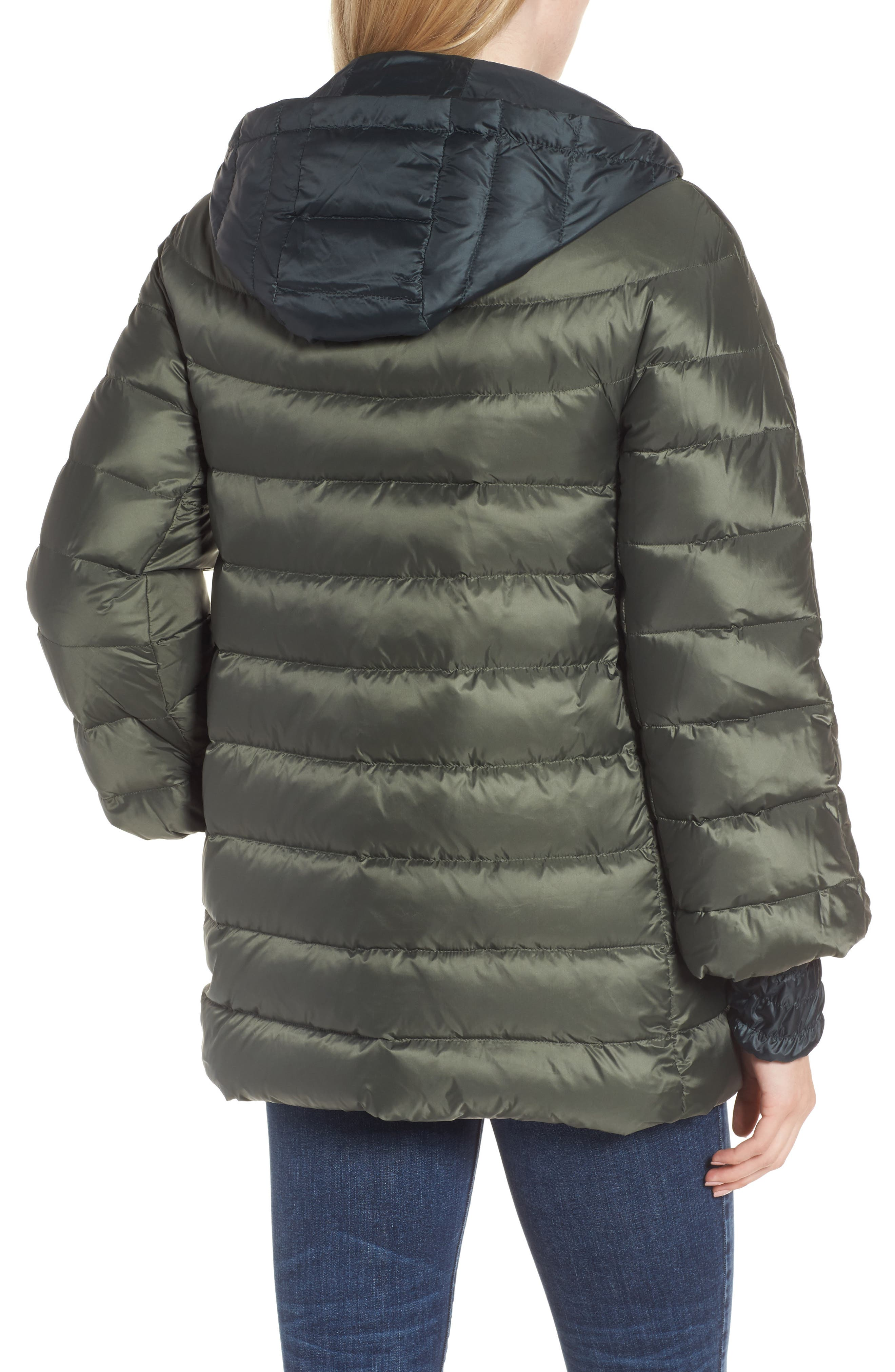 3-in-1 Layered Packable Quilted Down Coat,                             Alternate thumbnail 4, color,