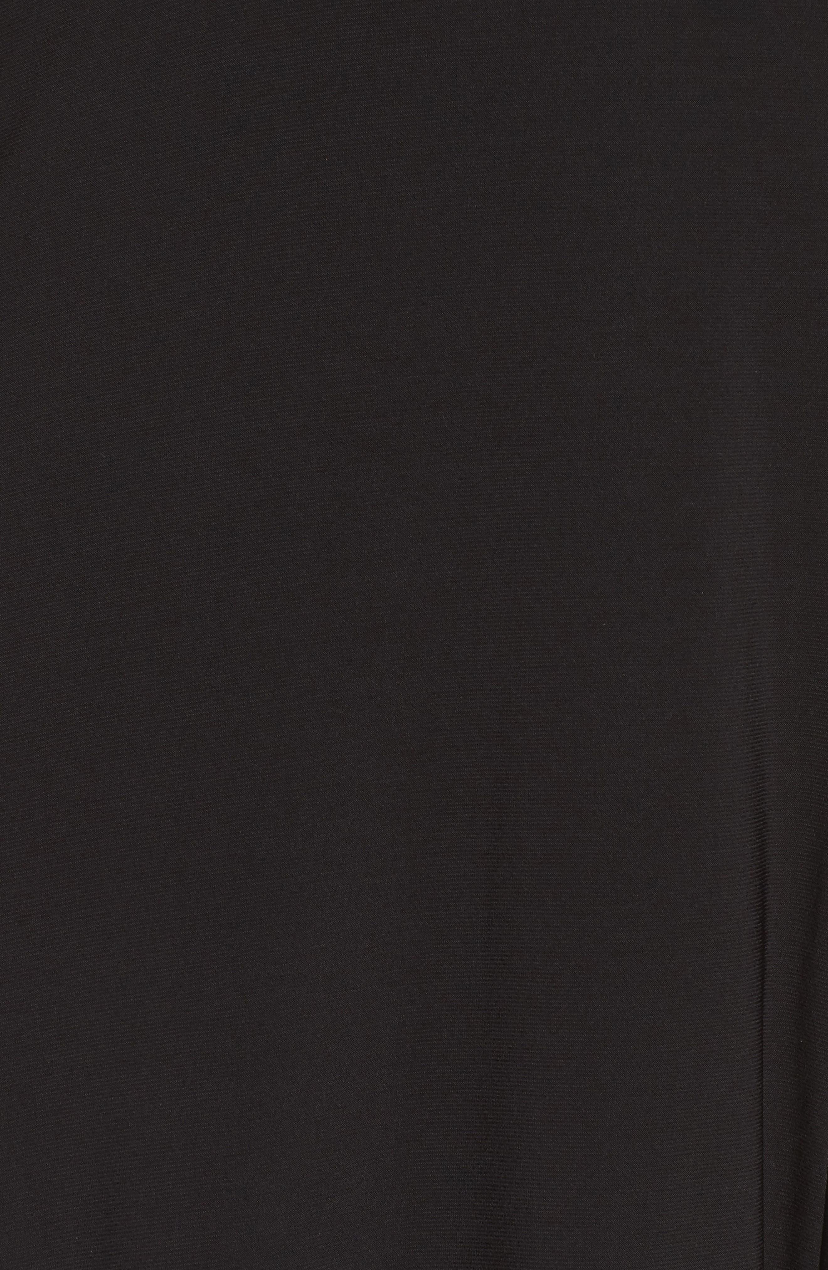 Illusion Gown,                             Alternate thumbnail 5, color,                             BLACK