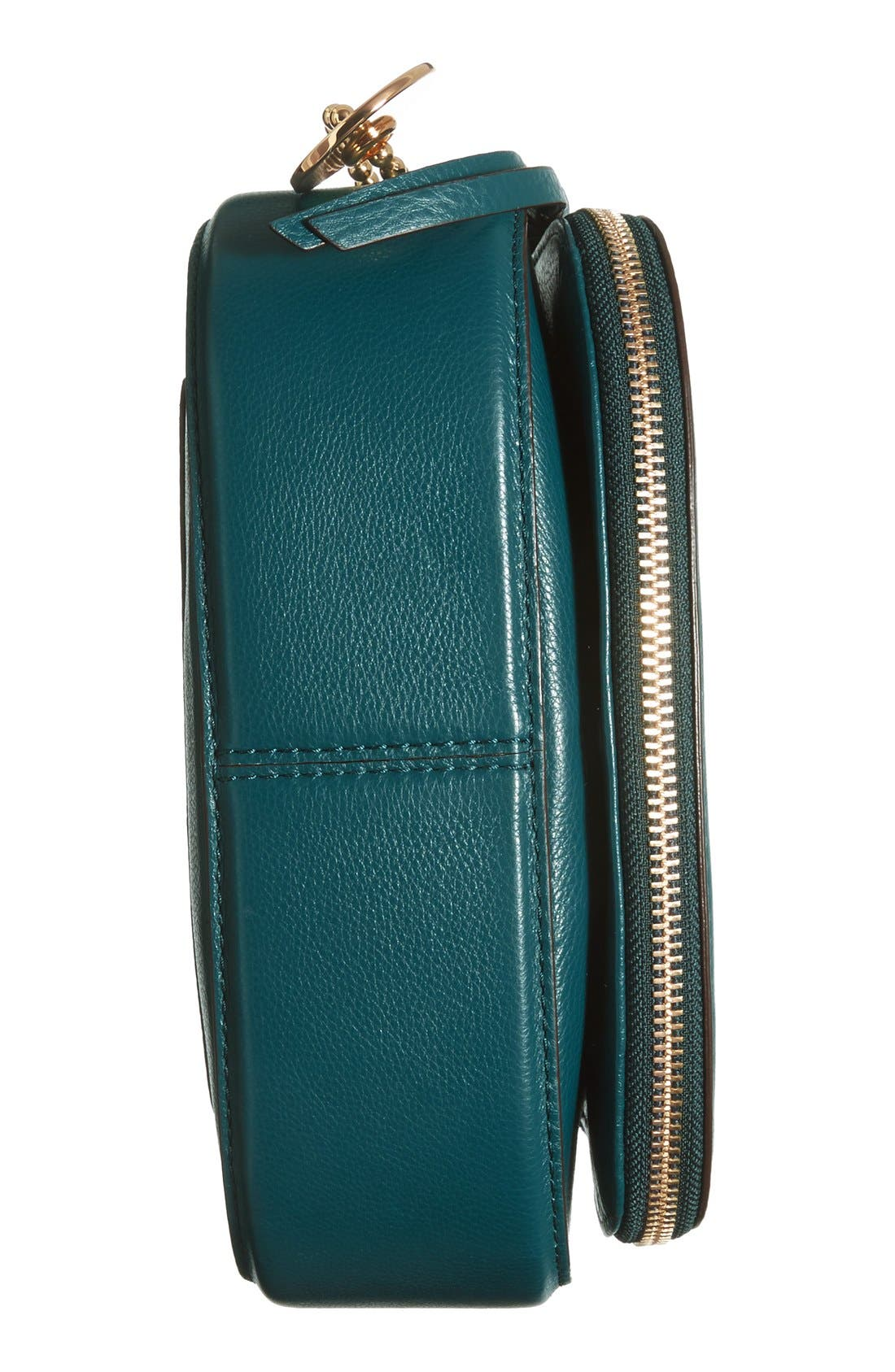 Small Recruit Nomad Pebbled Leather Crossbody Bag,                             Alternate thumbnail 75, color,