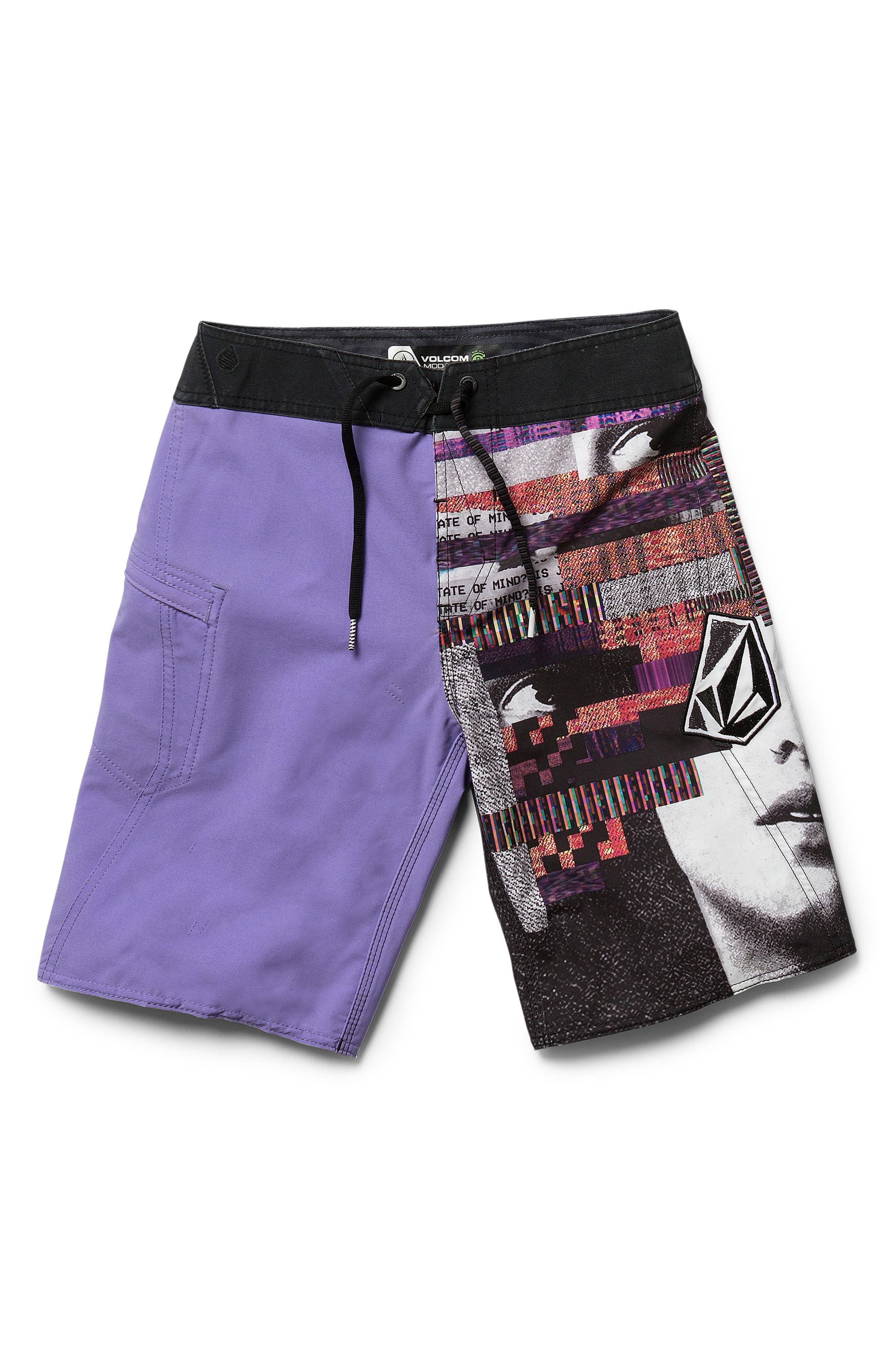 Noise Mod Board Shorts,                         Main,                         color, 512
