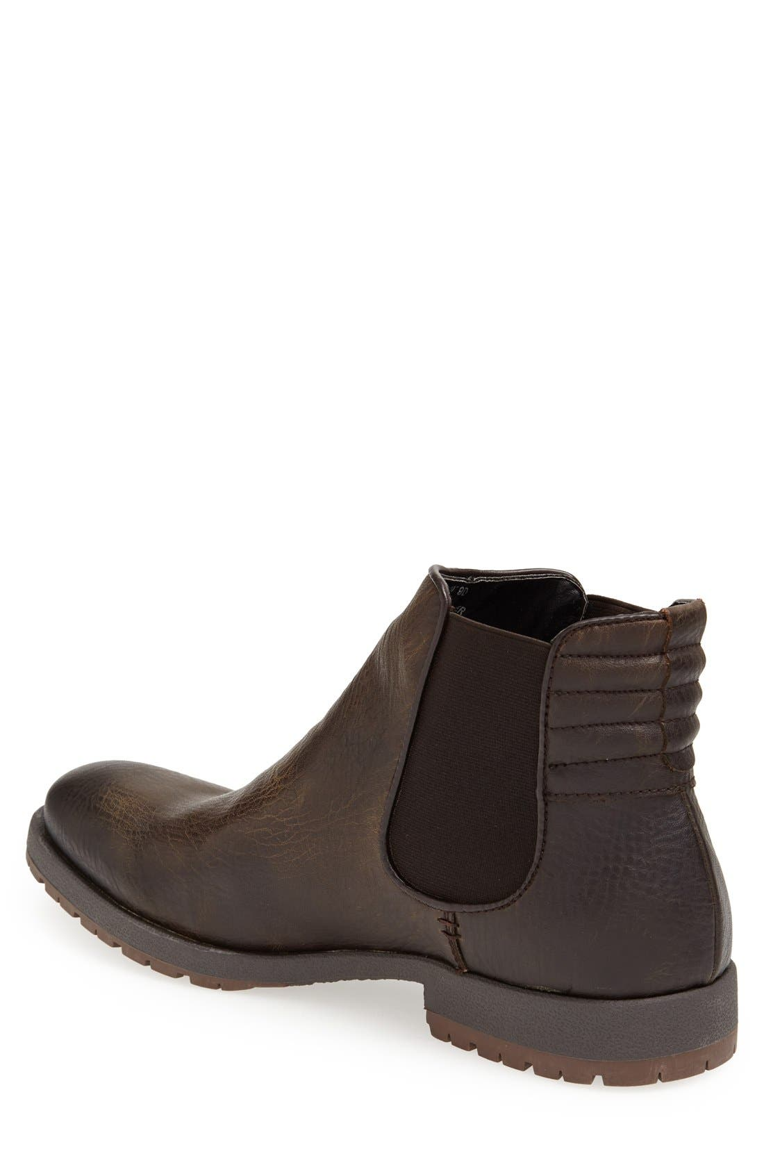 'Lazo' Chelsea Boot,                             Alternate thumbnail 3, color,                             207
