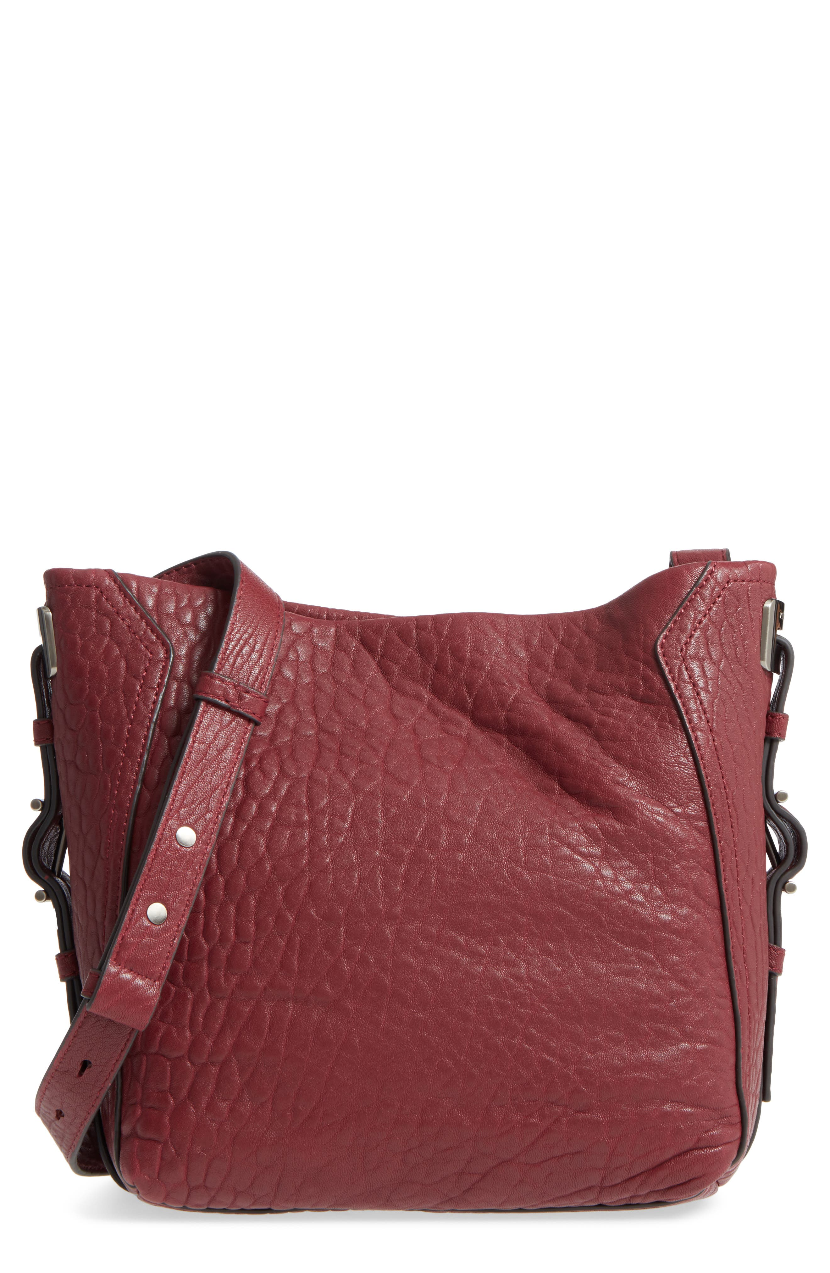 Fava Leather Bucket Bag,                             Main thumbnail 3, color,