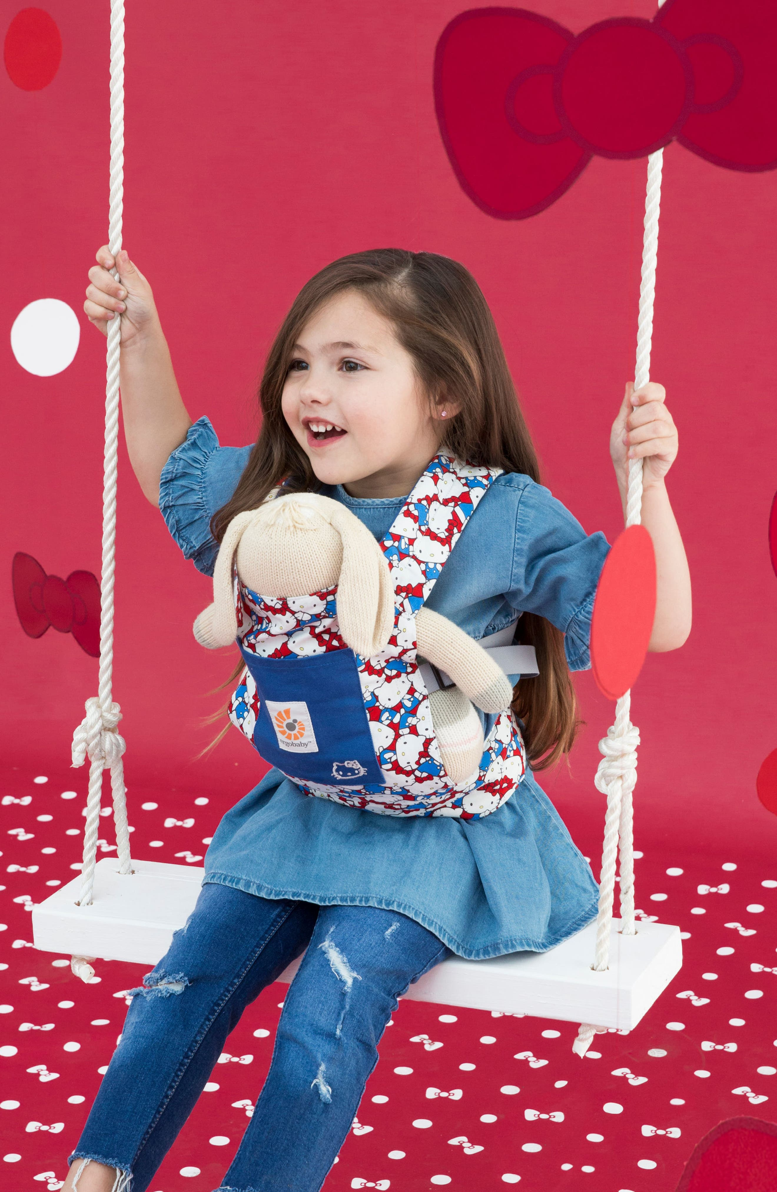 x Hello Kitty<sup>®</sup> Doll Carrier,                             Alternate thumbnail 2, color,                             400