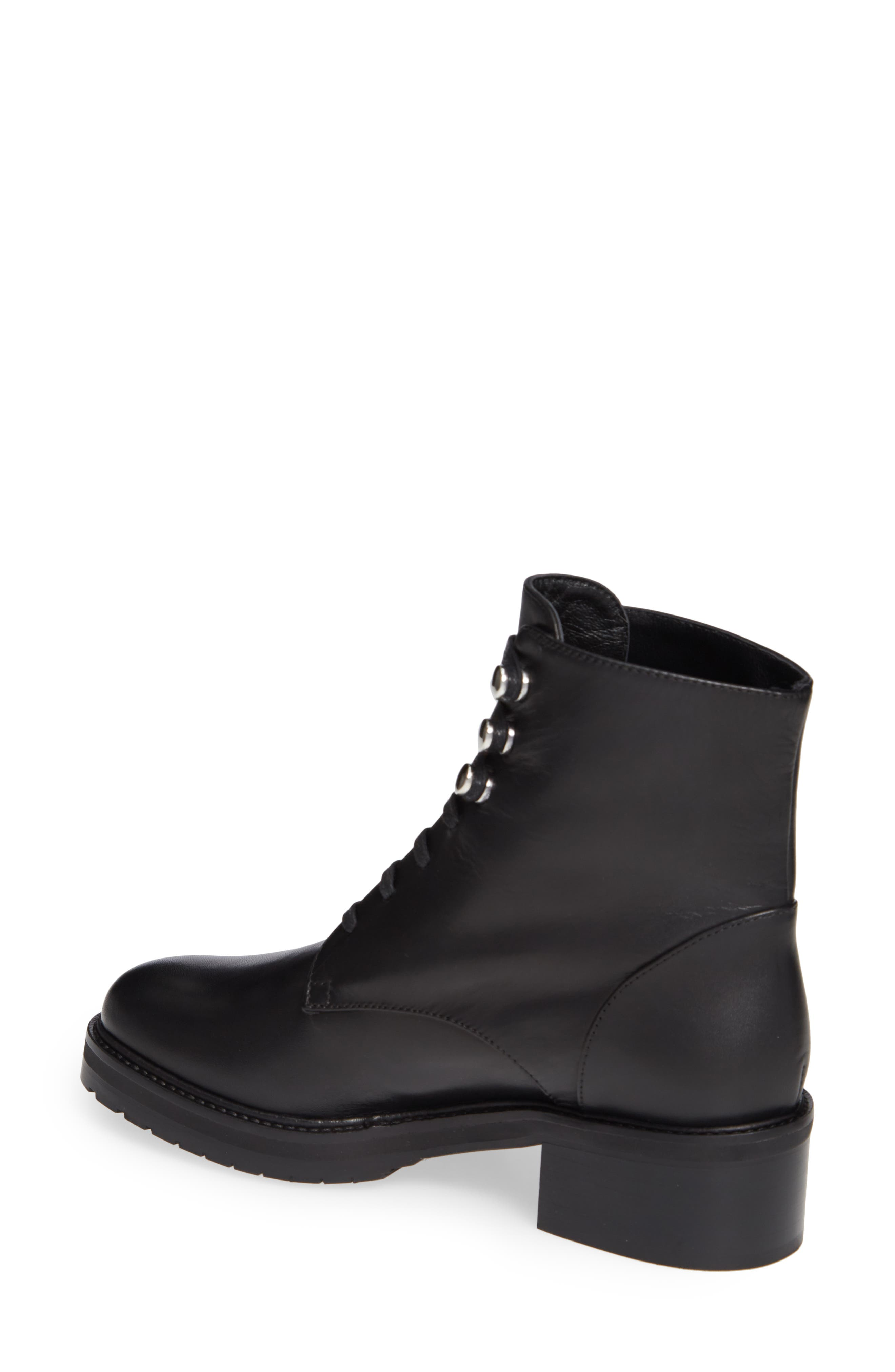 Leora Boot,                             Alternate thumbnail 2, color,                             BLACK LEATHER