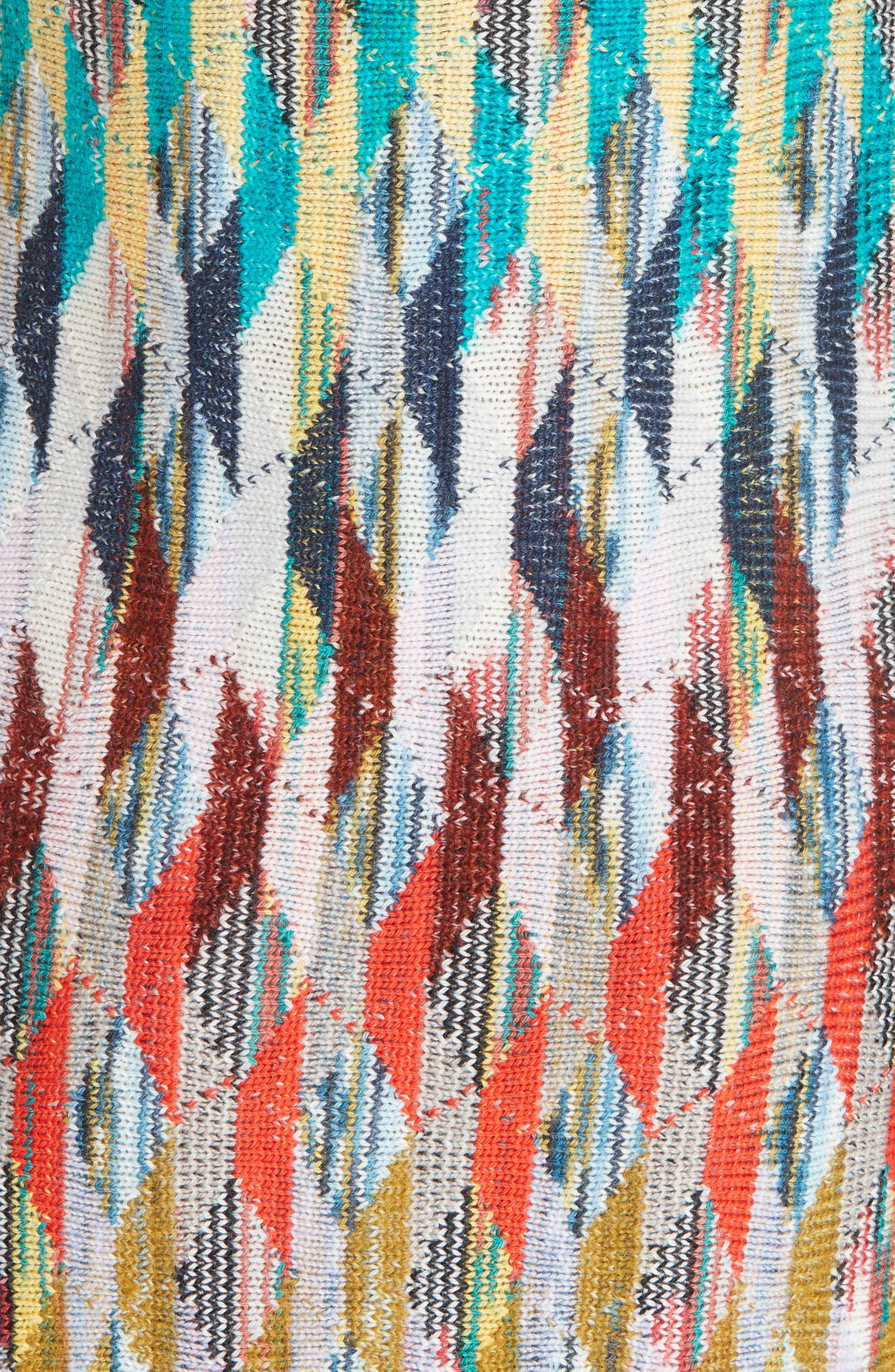 Knit Turtleneck Dress,                             Alternate thumbnail 6, color,                             MULTI
