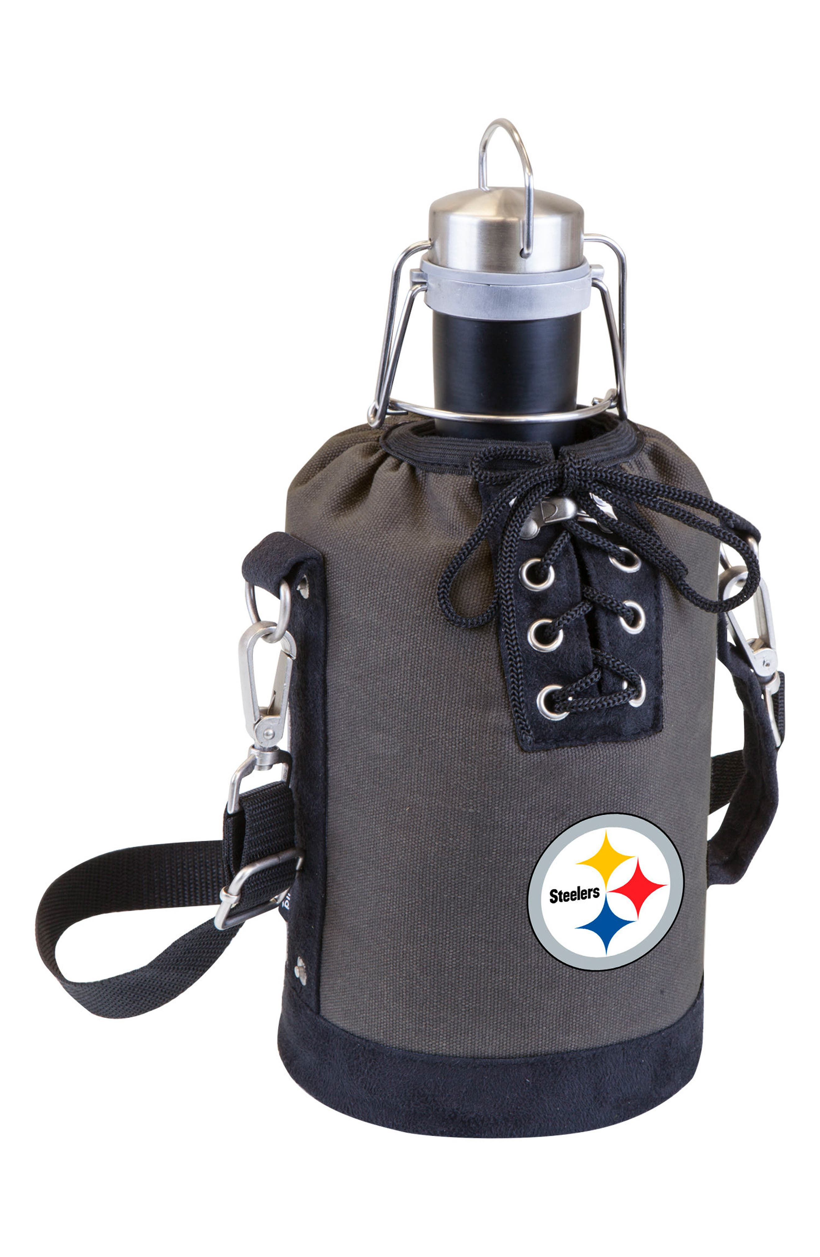 NFL Team Logo Tote & Stainless Steel Growler,                             Main thumbnail 25, color,