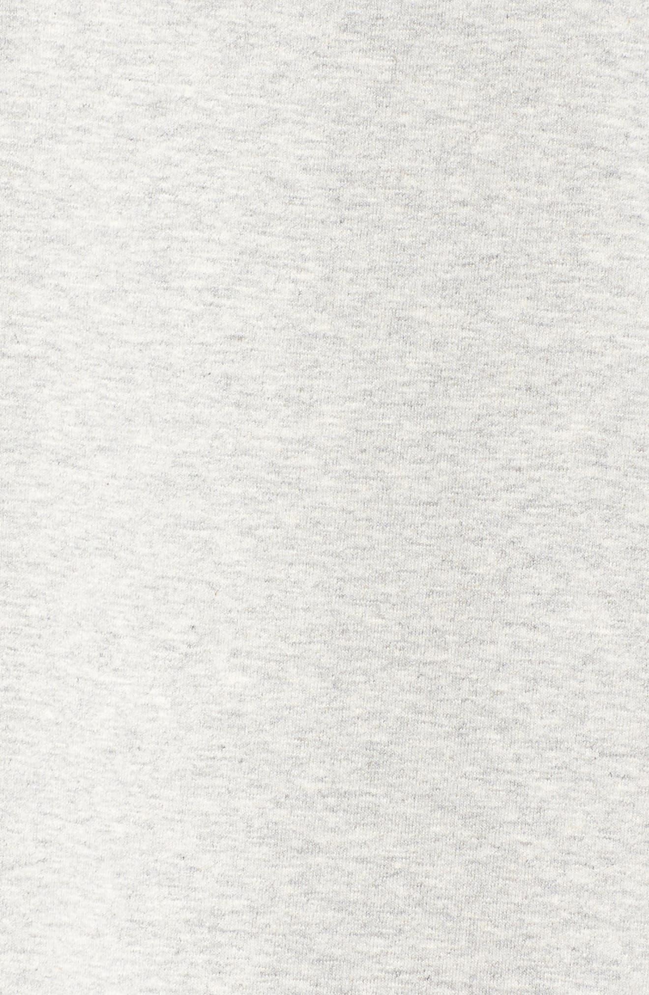 Organic Stretch Cotton Shift Dress,                             Alternate thumbnail 5, color,                             020