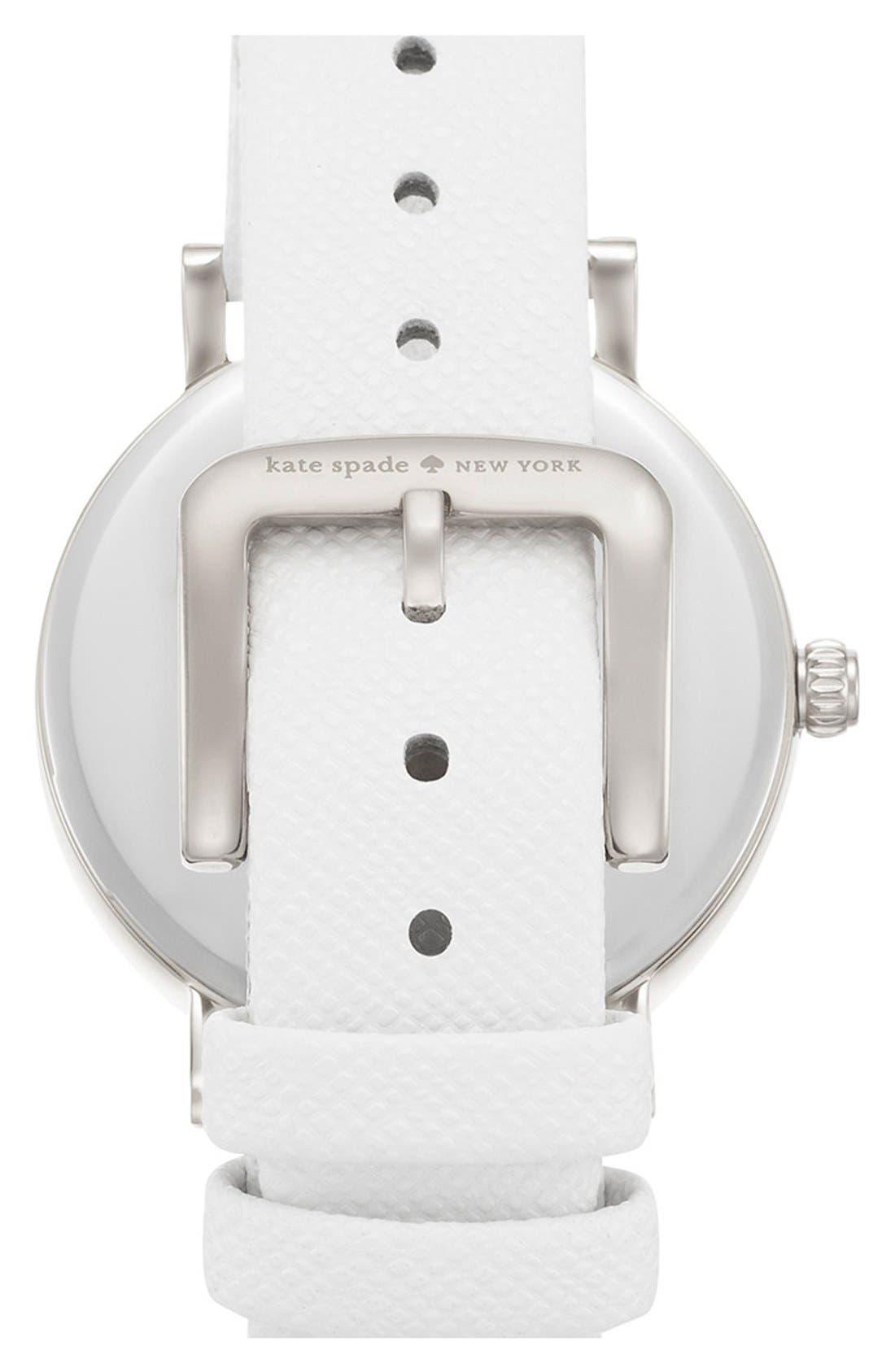 'metro' boxed dot dial watch & straps set, 34mm,                             Alternate thumbnail 4, color,                             100