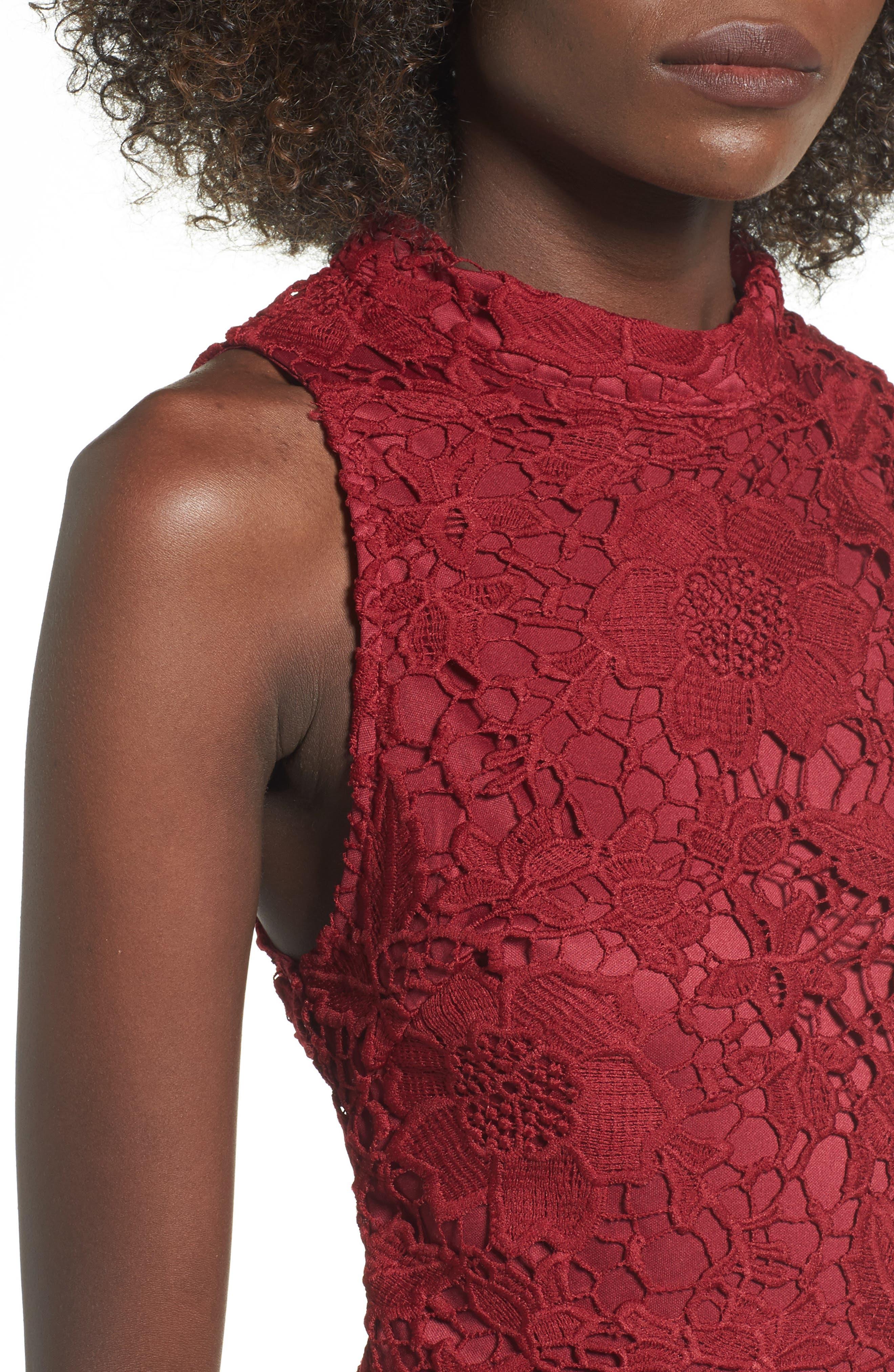 'Samantha' Lace Dress,                             Alternate thumbnail 23, color,