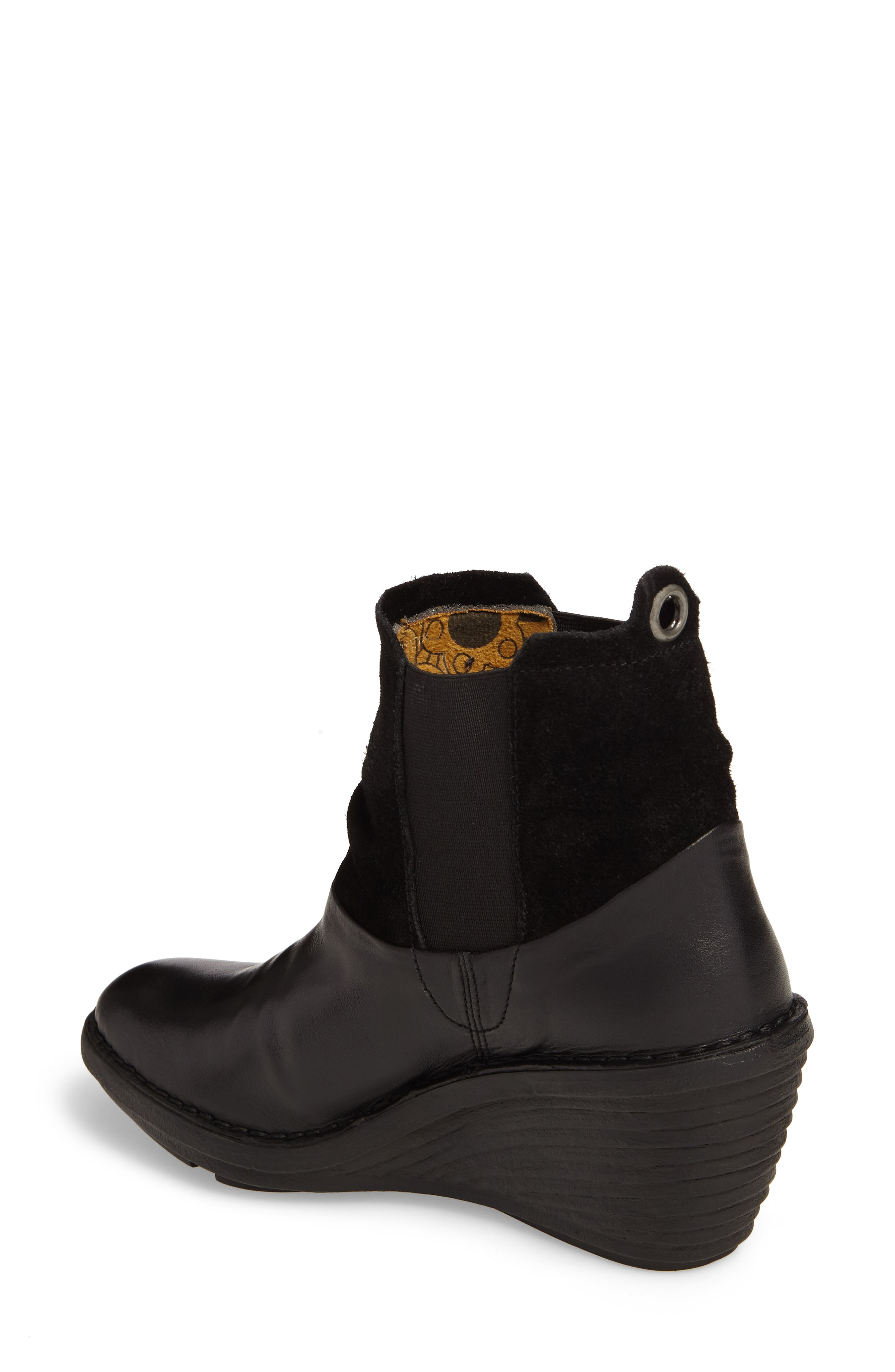 Sula Wedge Bootie,                             Alternate thumbnail 2, color,                             001
