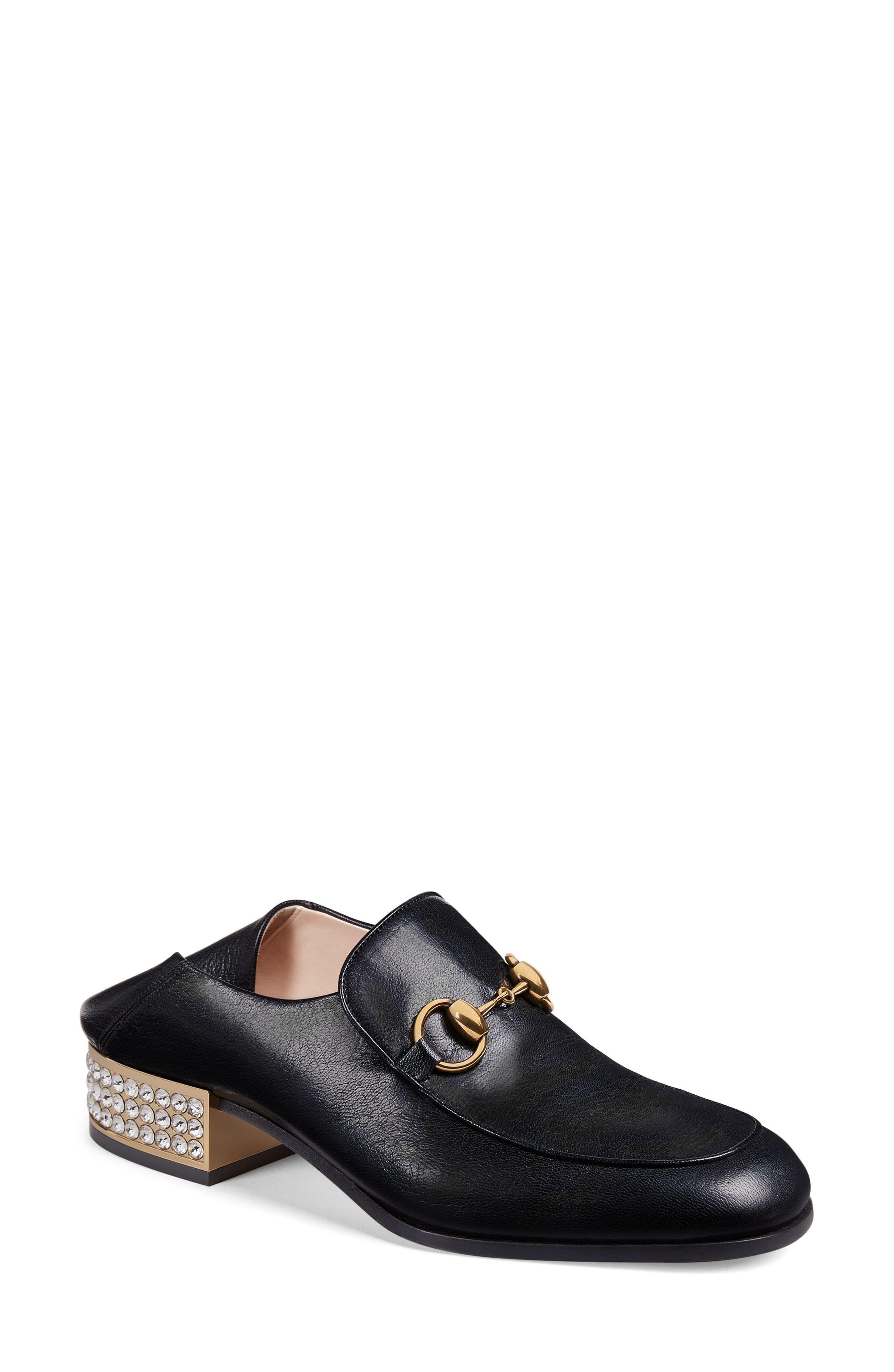 Mister Crystal Convertible Loafer,                         Main,                         color, BLACK
