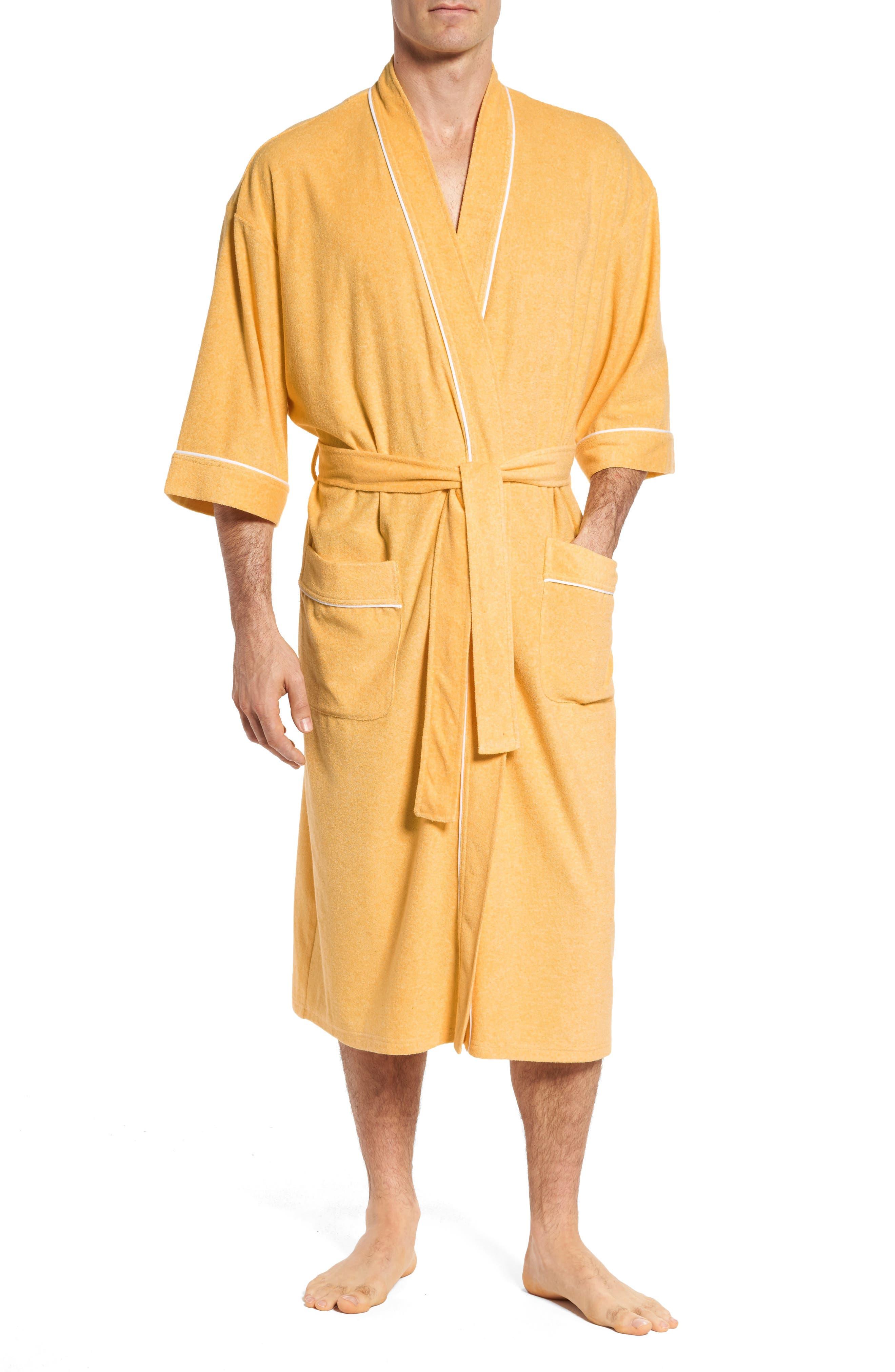 Kimono Cotton Blend Robe,                         Main,                         color,