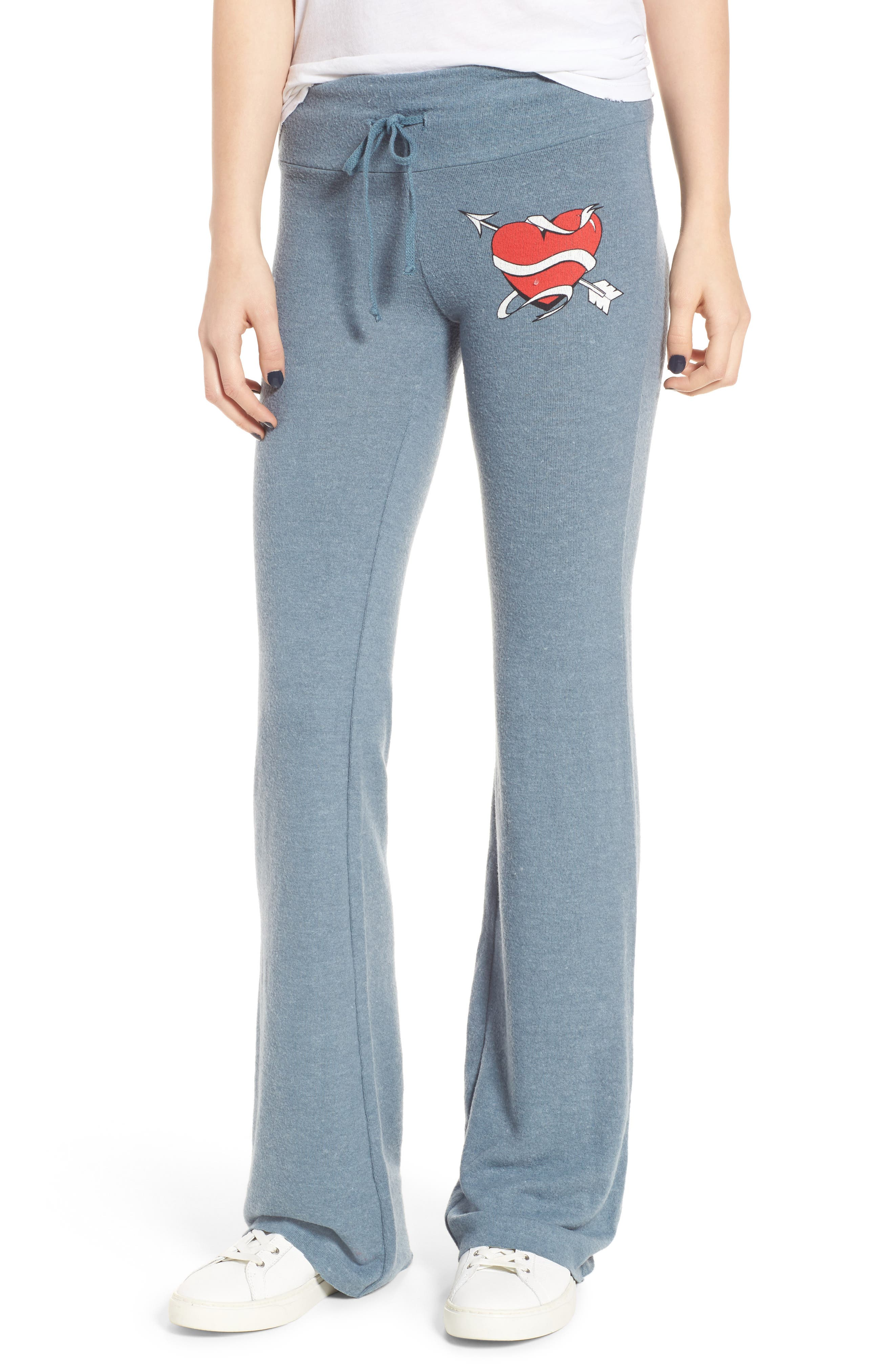 Heart & Arrows Sweatpants,                             Main thumbnail 1, color,                             402
