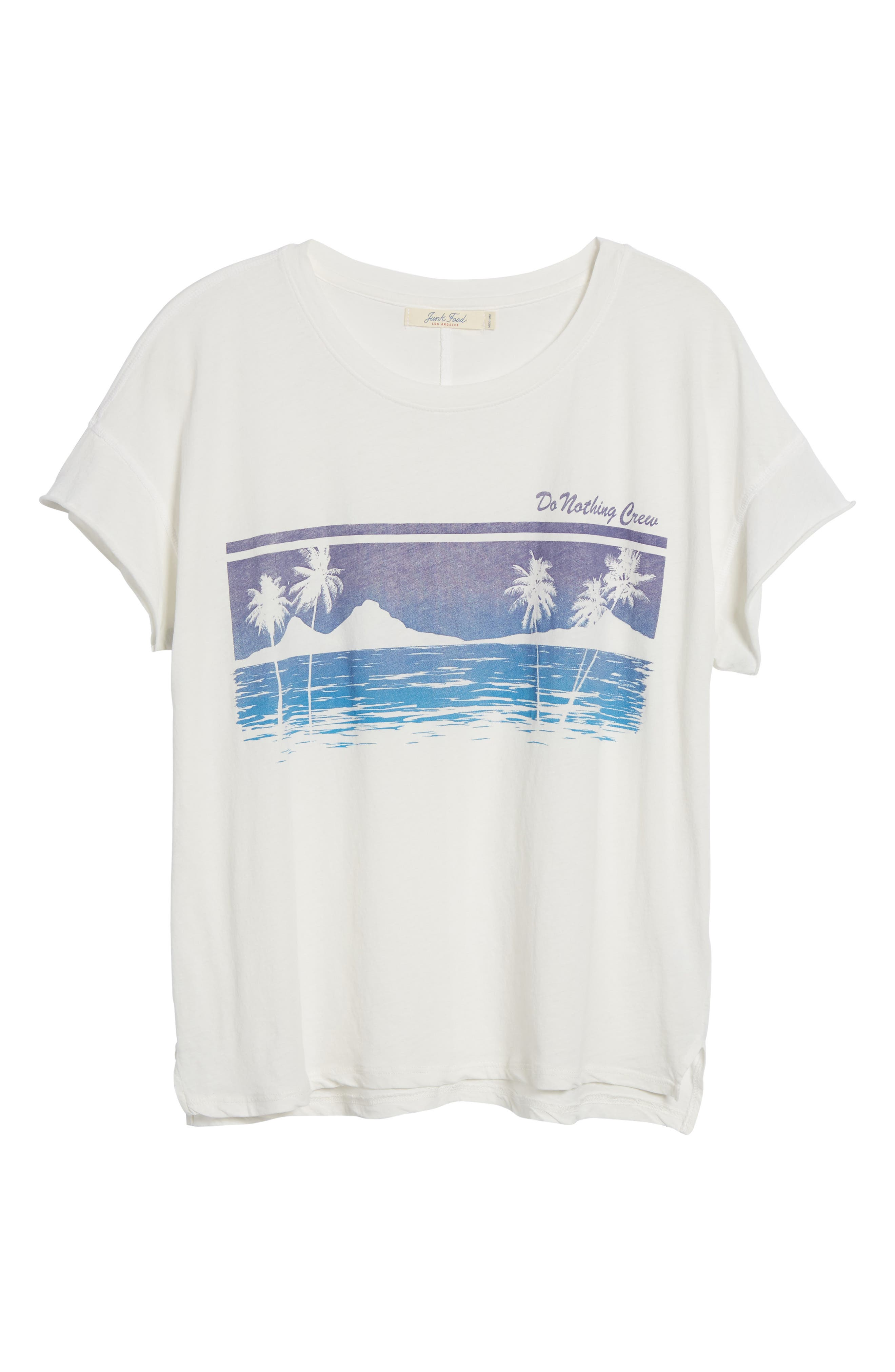 Do Nothing Crew Tee,                             Alternate thumbnail 6, color,                             110