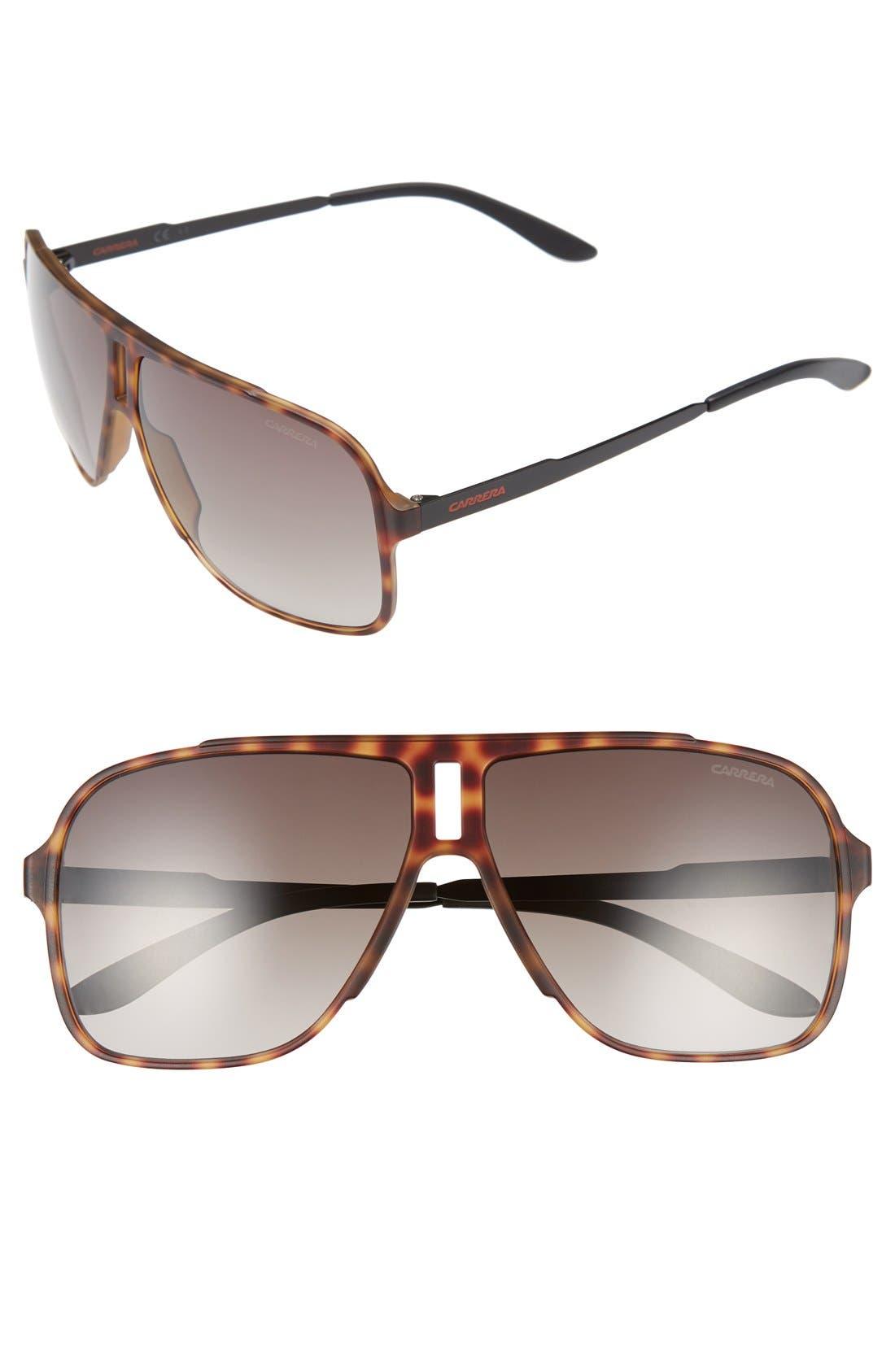 61mm Sunglasses,                         Main,                         color, 210