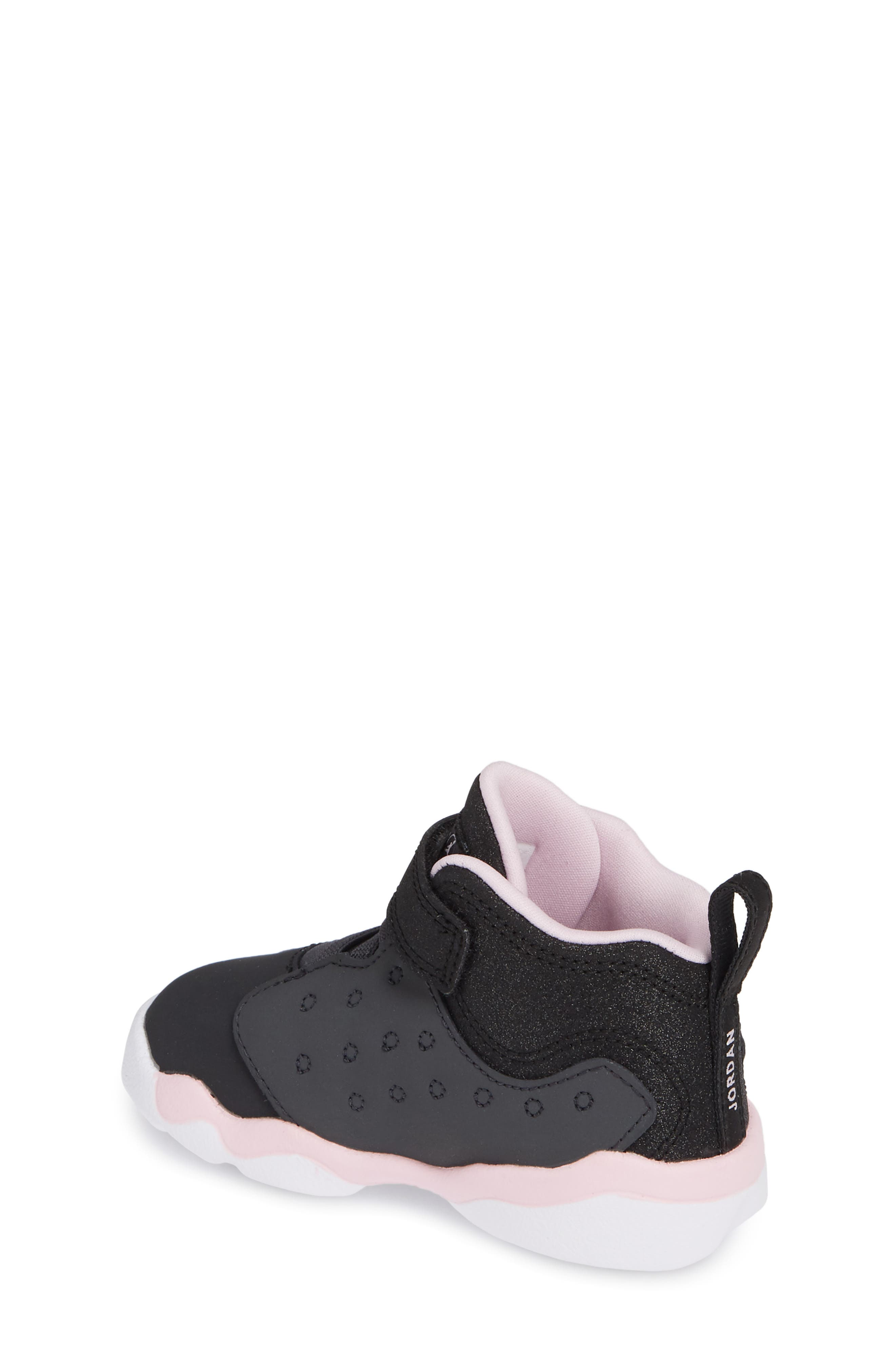 Jumpman Team II Sneaker,                             Alternate thumbnail 2, color,                             ANTHRACITE/ BLACK-PINK -WHITE