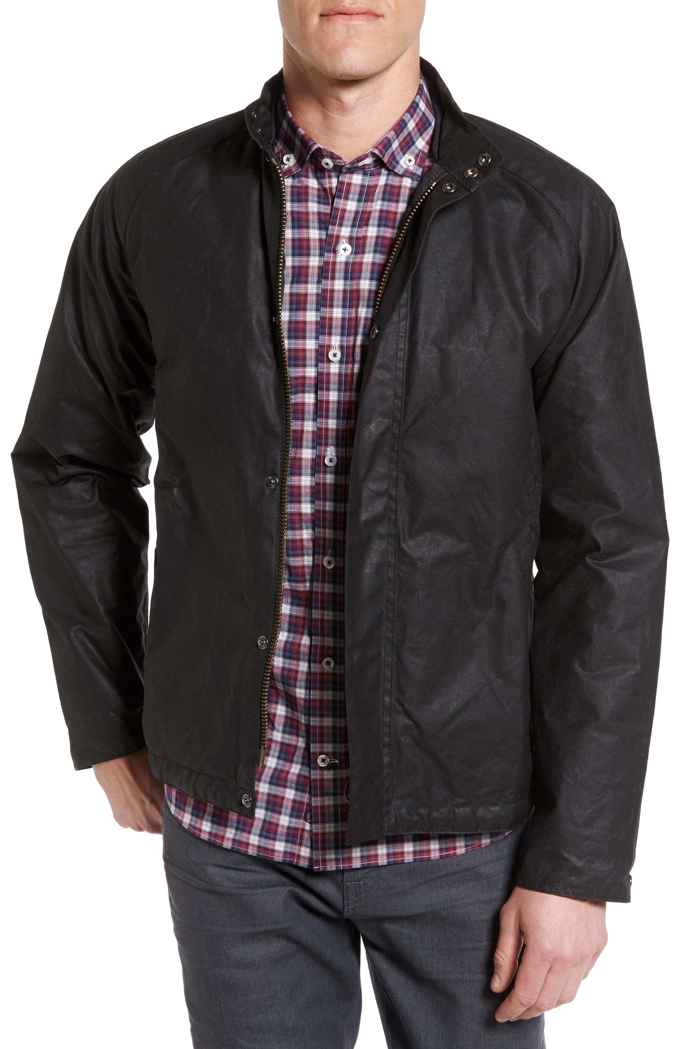 Chrome Slim Fit Water Repellent Jacket,                         Main,                         color,