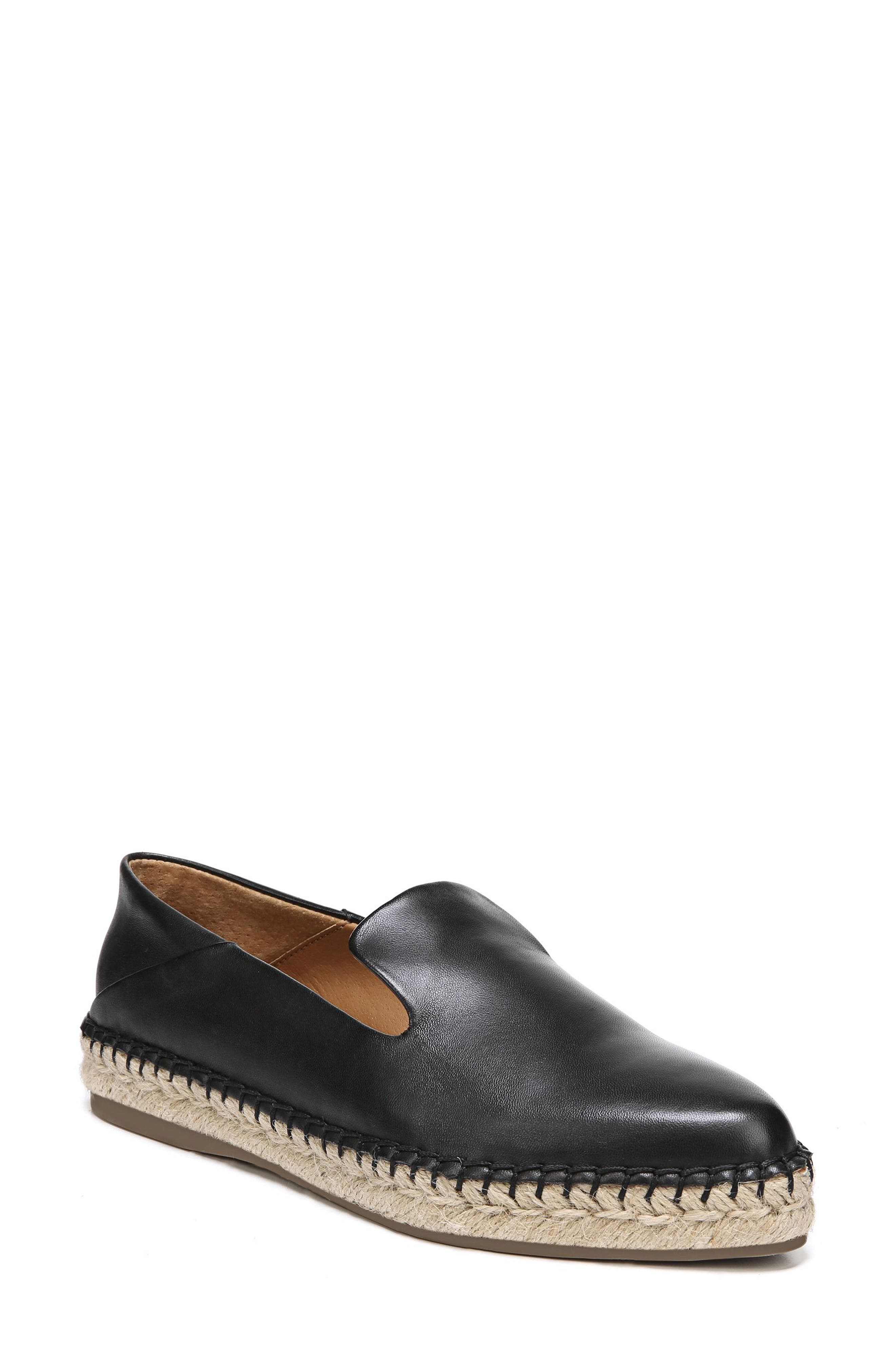 Eviana Espadrille Loafer,                             Main thumbnail 1, color,                             001