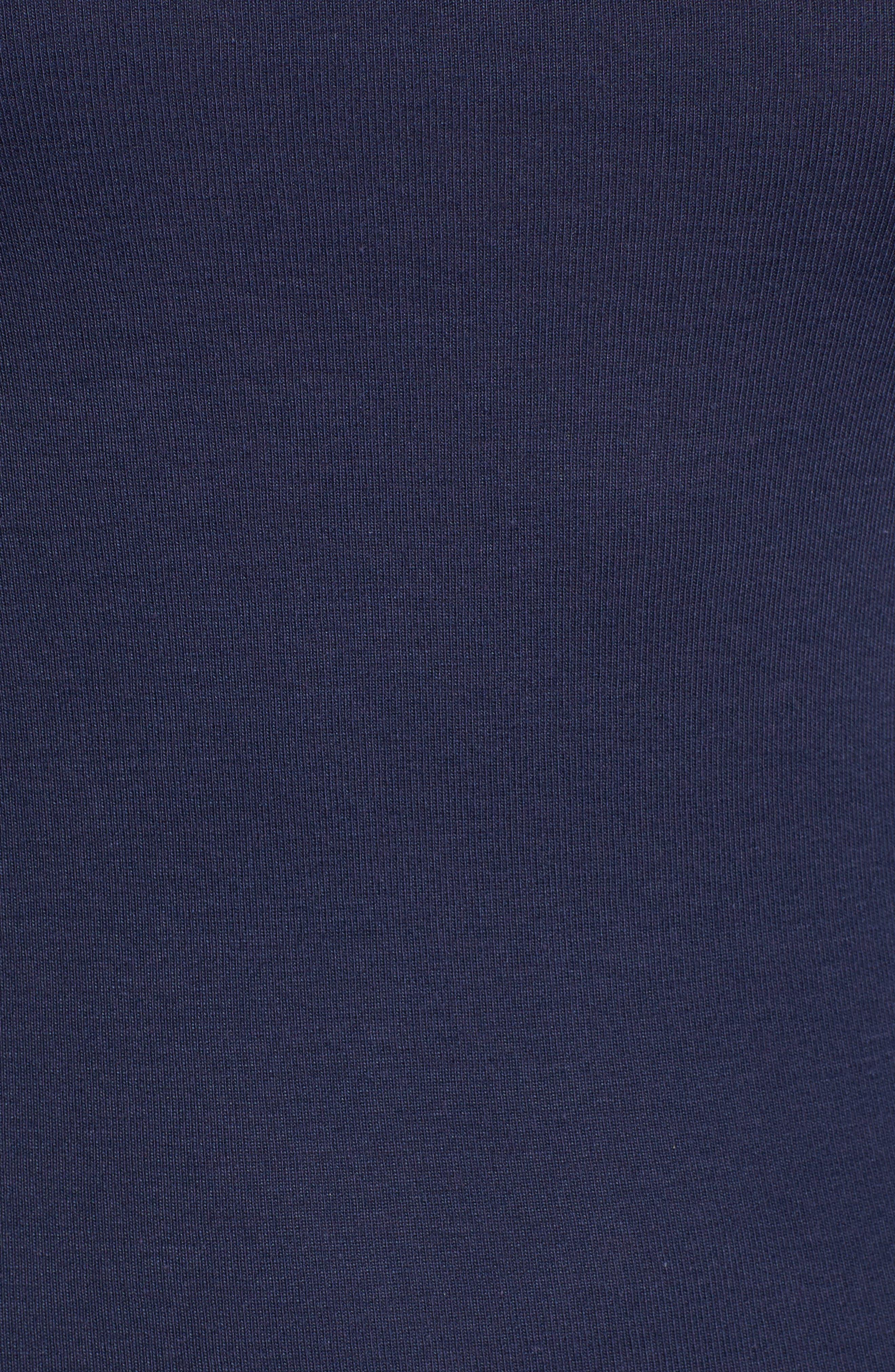 Three Quarter Sleeve Tee,                             Alternate thumbnail 102, color,