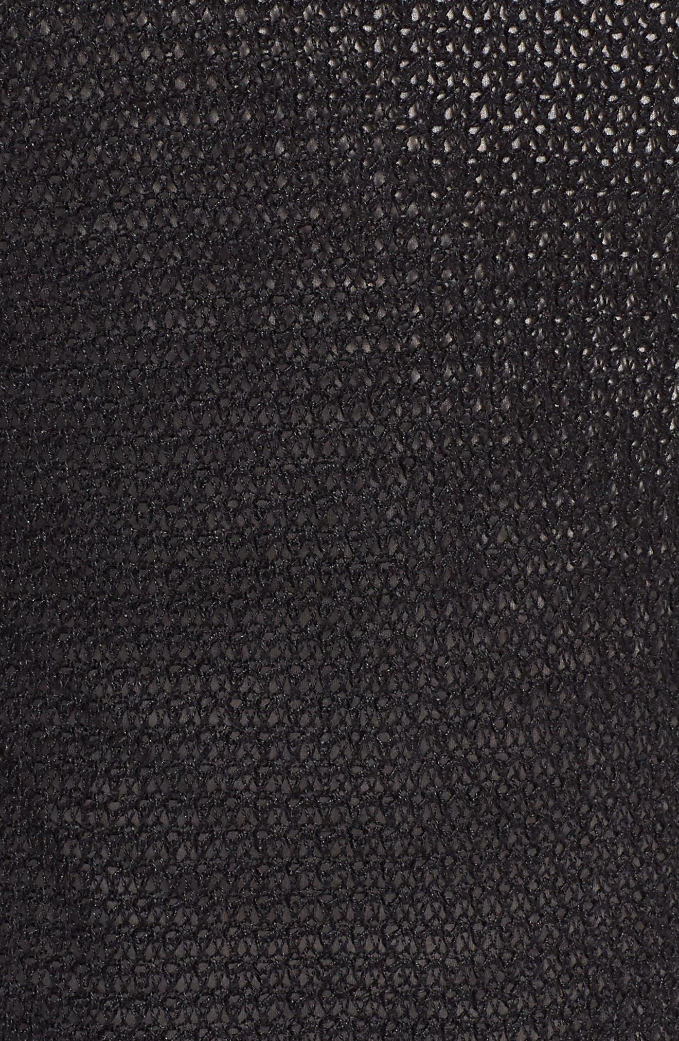 Long Organic Linen Cardigan,                             Alternate thumbnail 6, color,                             002