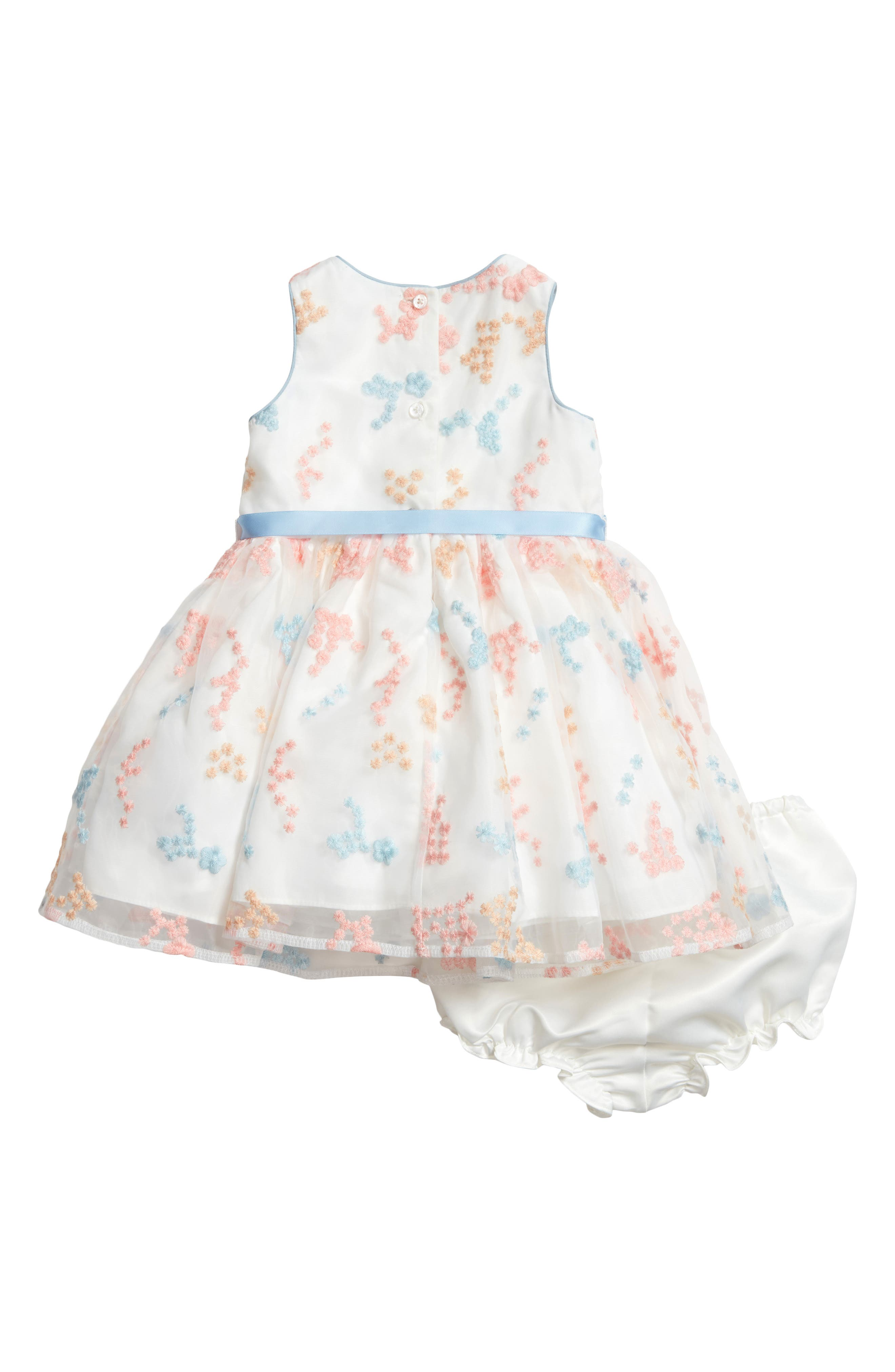 Embroidered Flower Dress,                             Alternate thumbnail 2, color,                             900