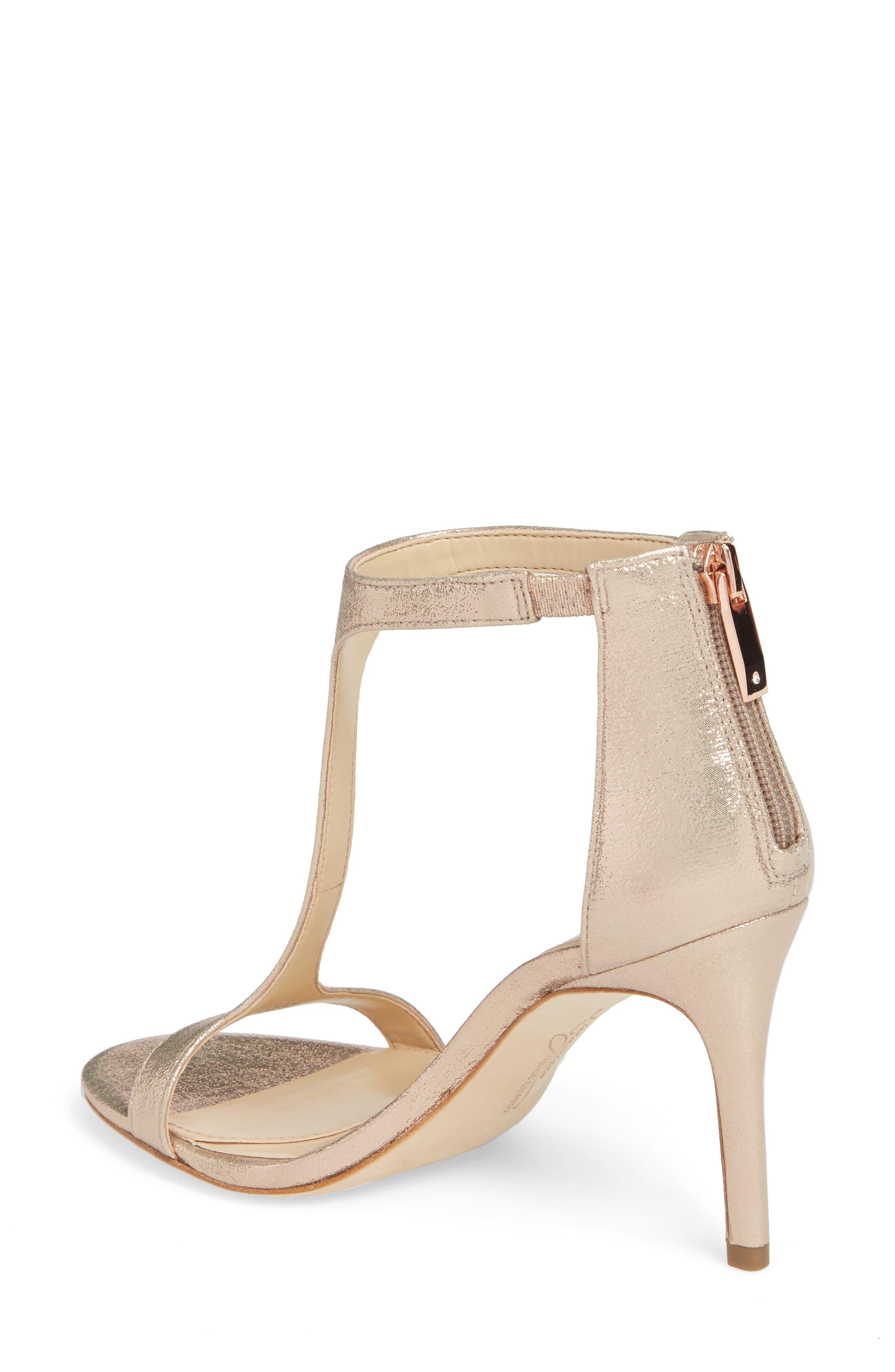 'Phoebe' Embellished T-Strap Sandal,                             Alternate thumbnail 15, color,