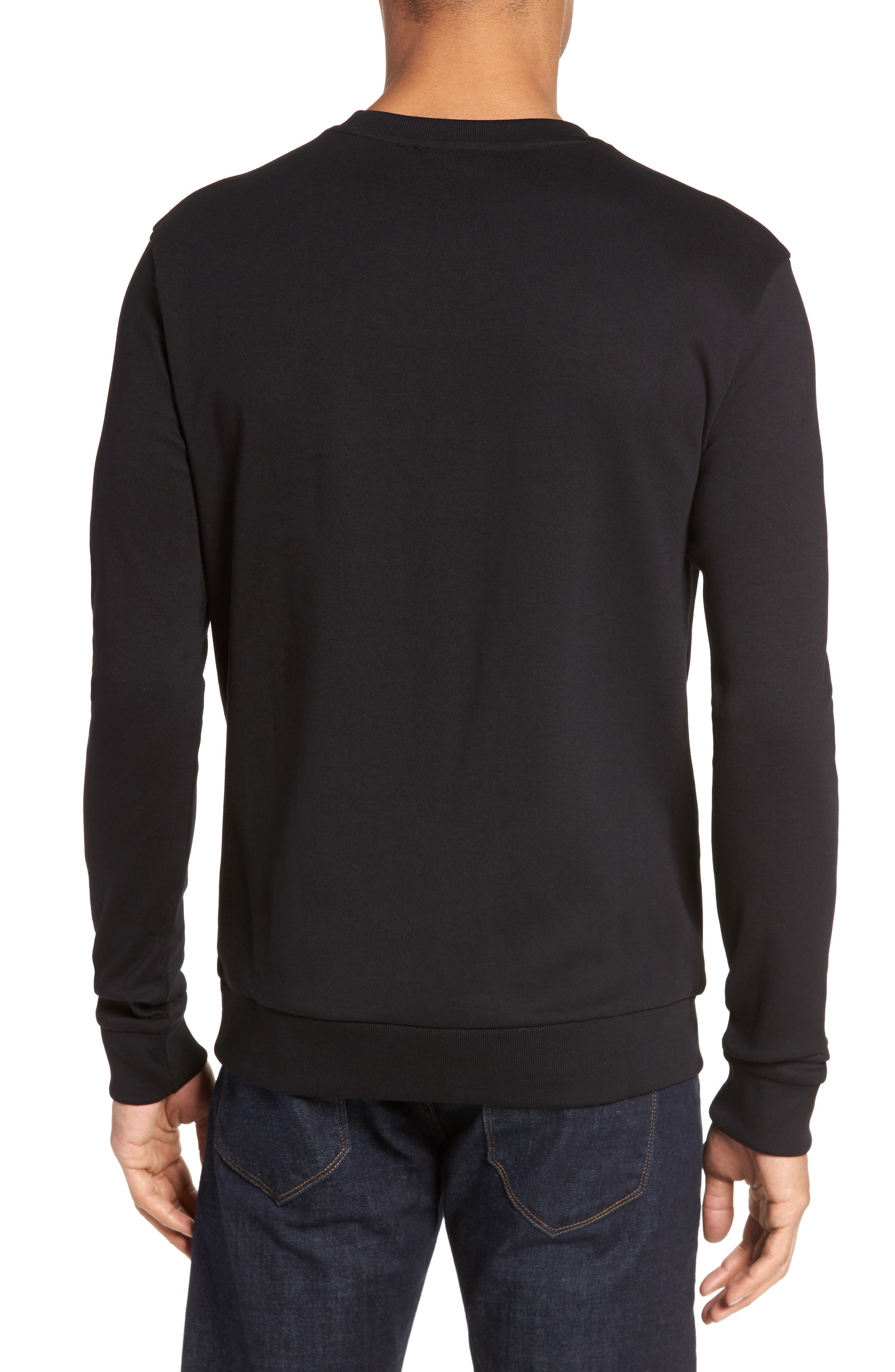 Dicagolo Logo Sweatshirt,                             Alternate thumbnail 2, color,                             001
