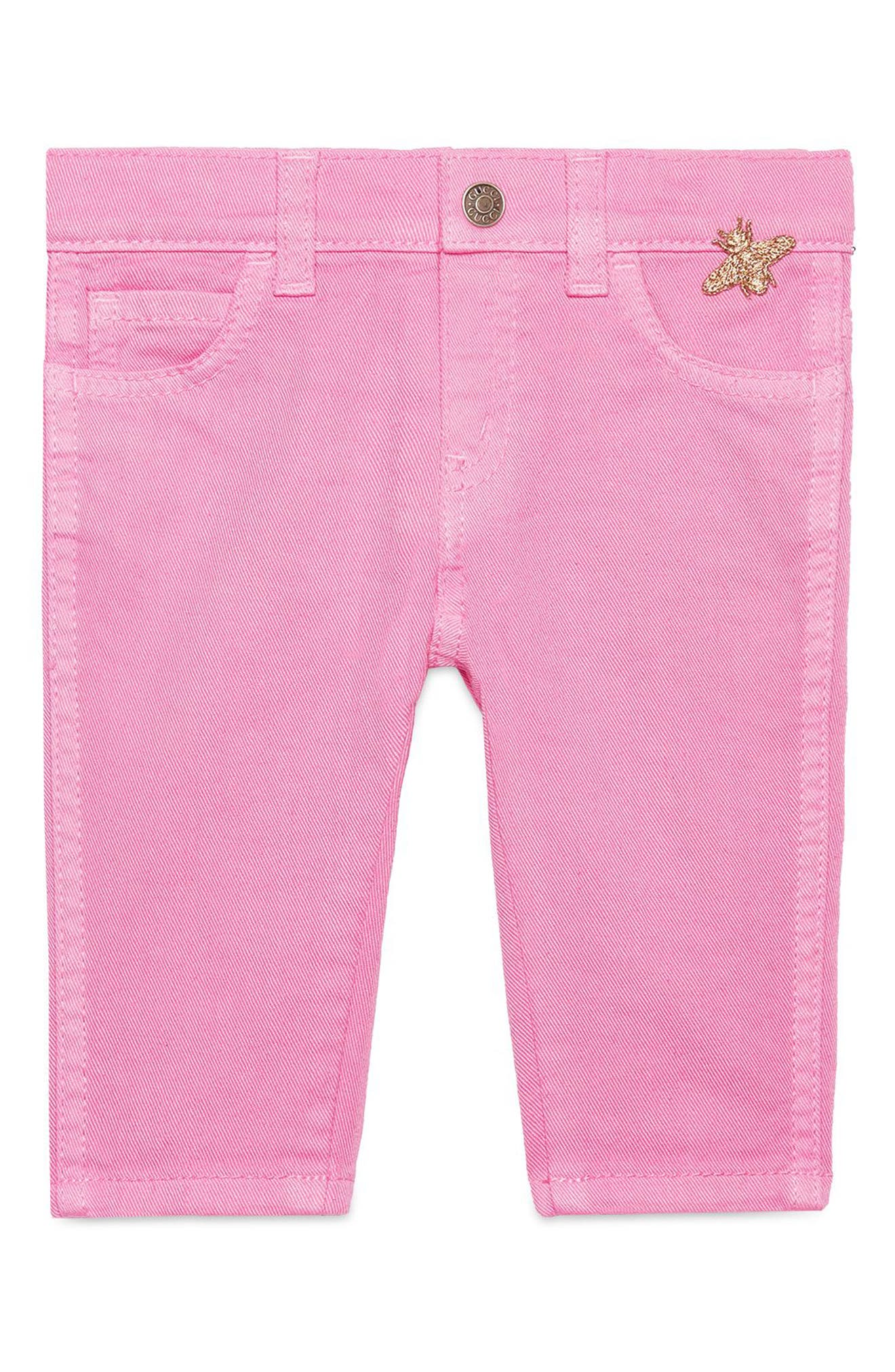 Tapered Jeggings,                         Main,                         color, SOFT ROSE
